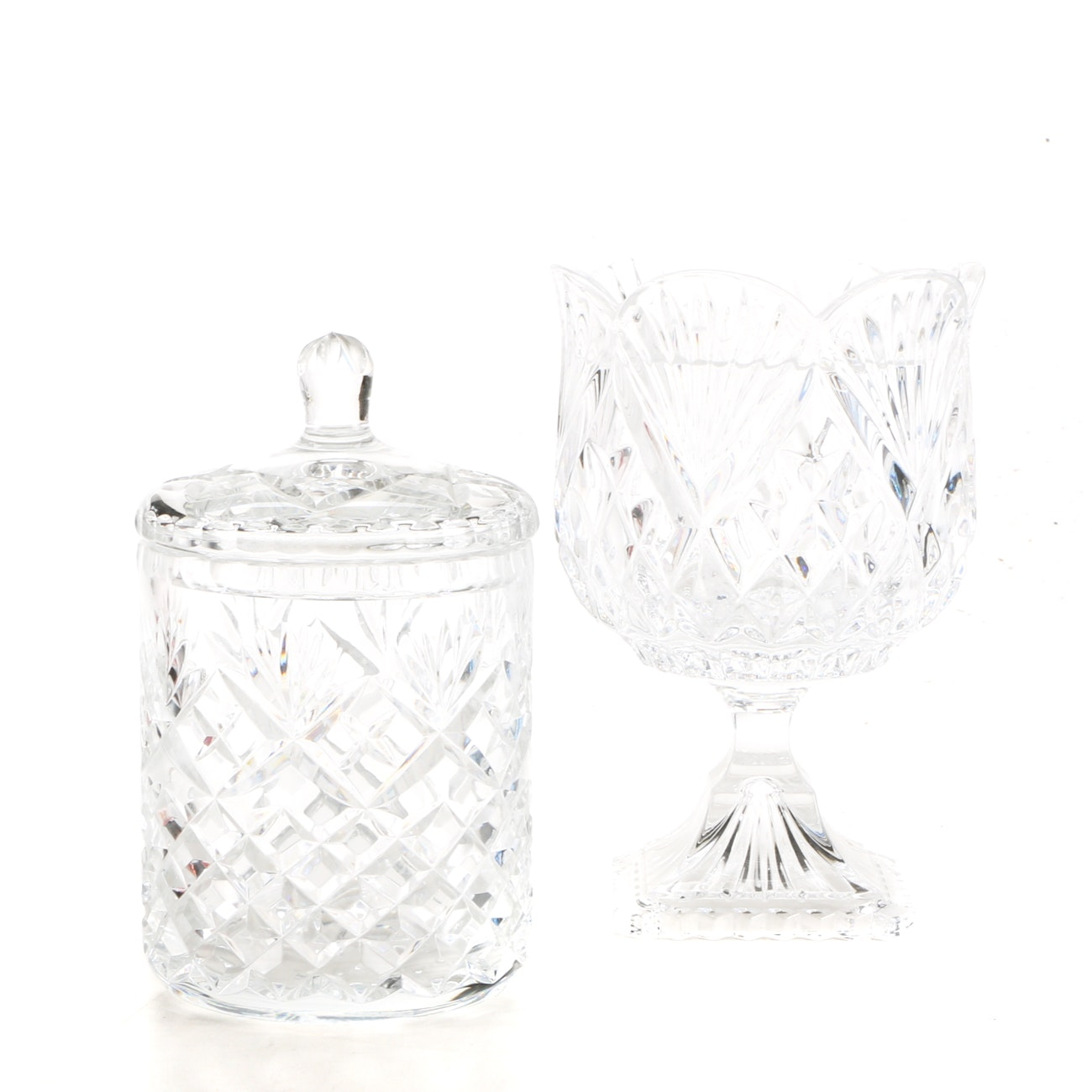 Group of Crystal Tableware