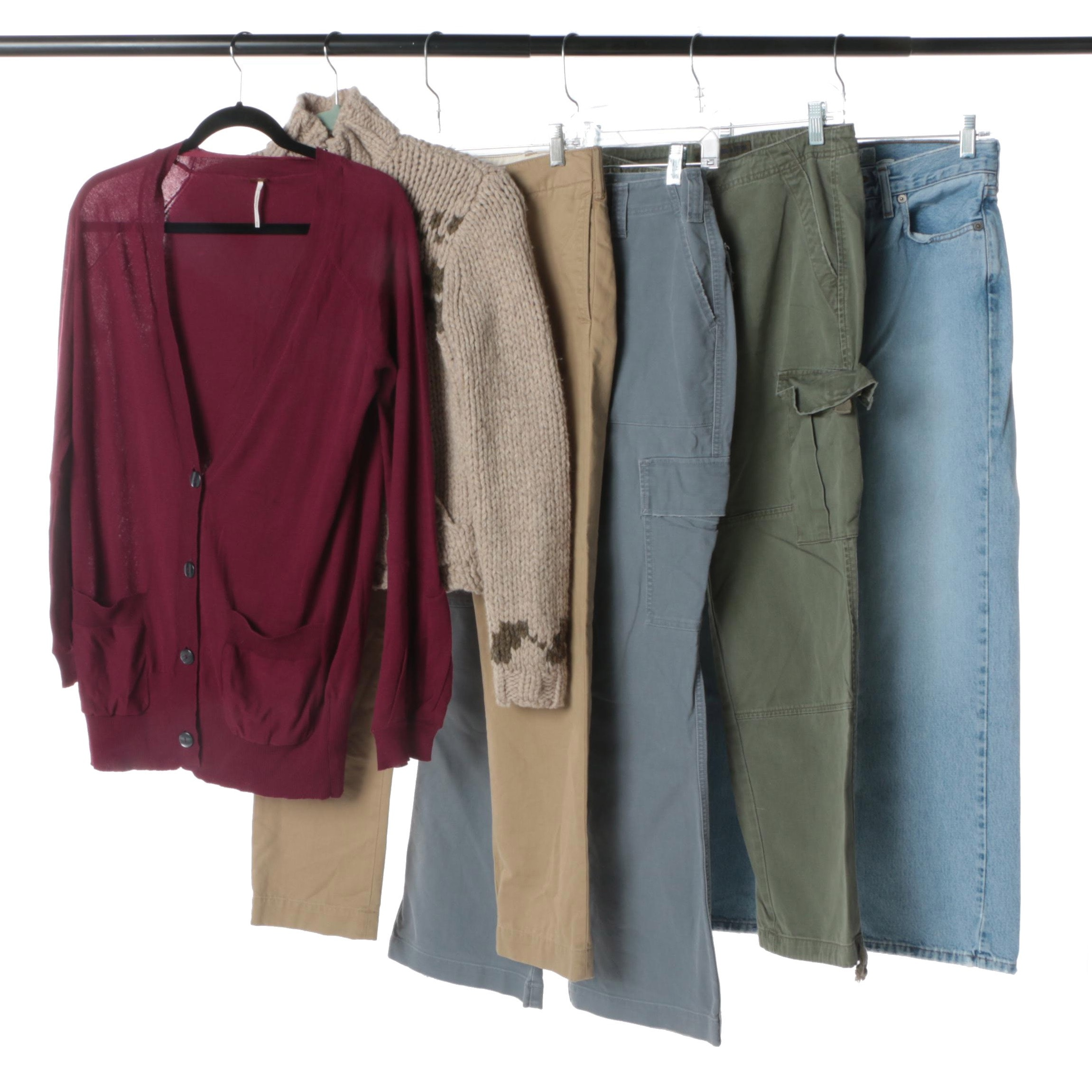 Women's Clothing Separates Including Abercrombie & Fitch and Free People