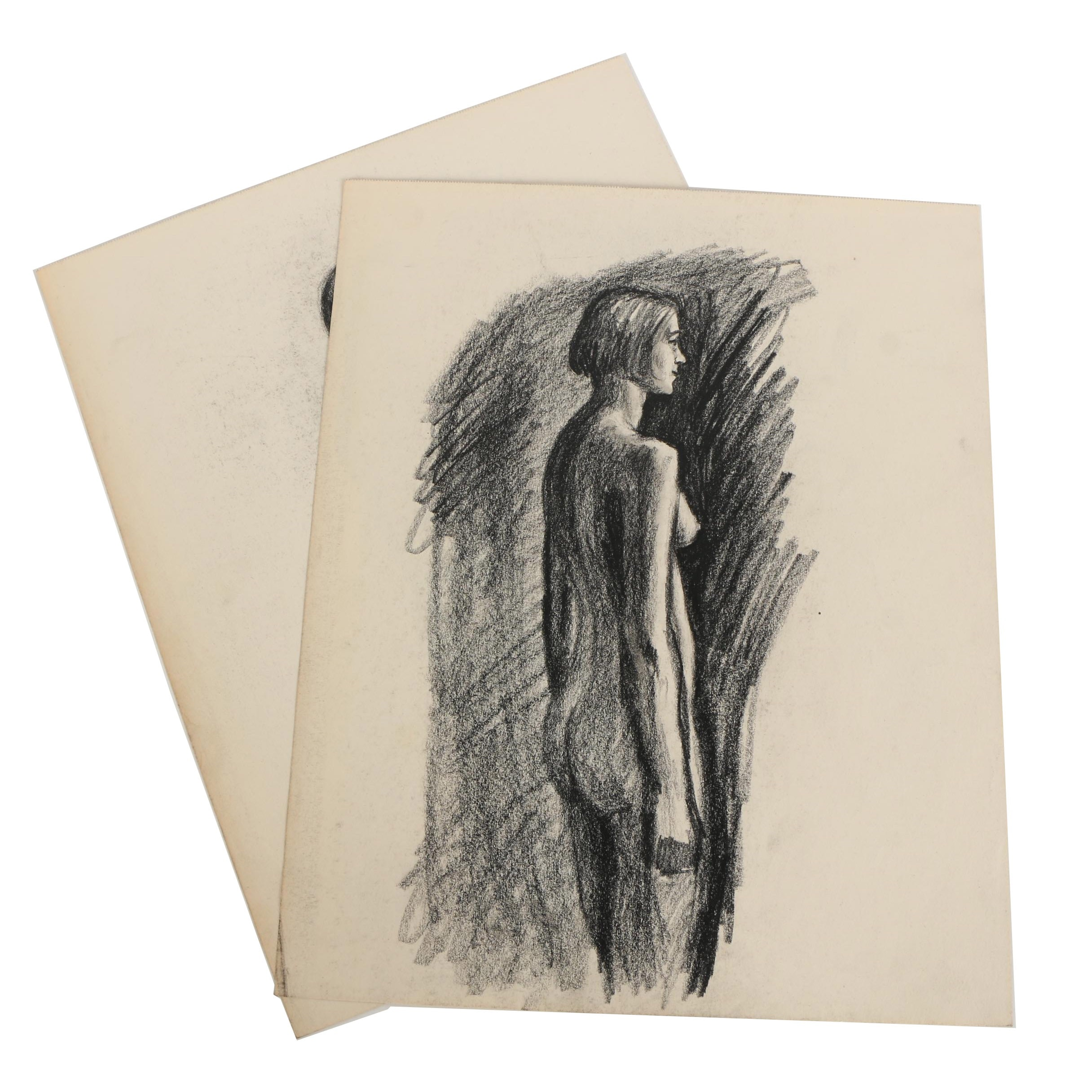 Florence Smithburn Charcoal Figure Drawings