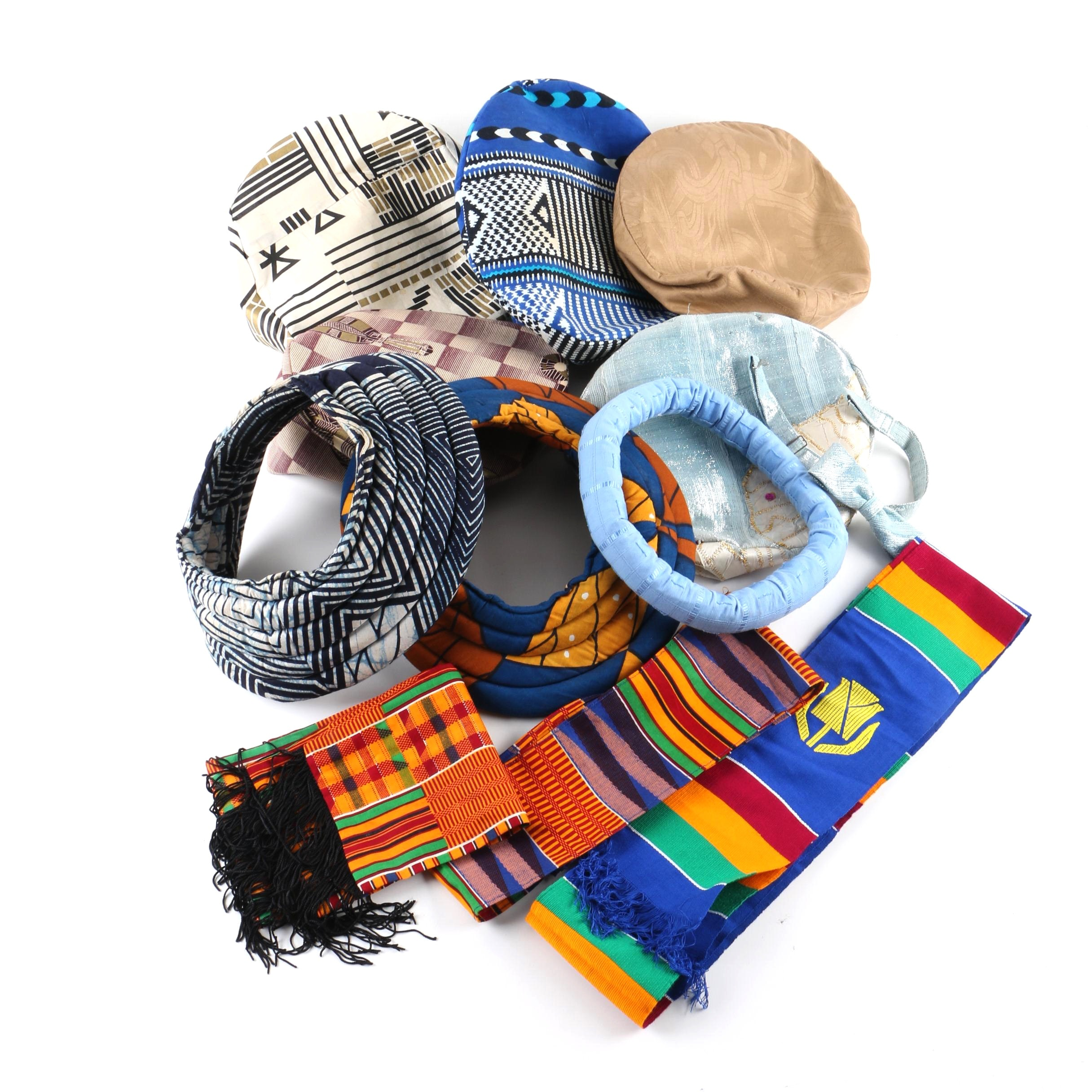 Vintage Traditional African Headwear and Accessories