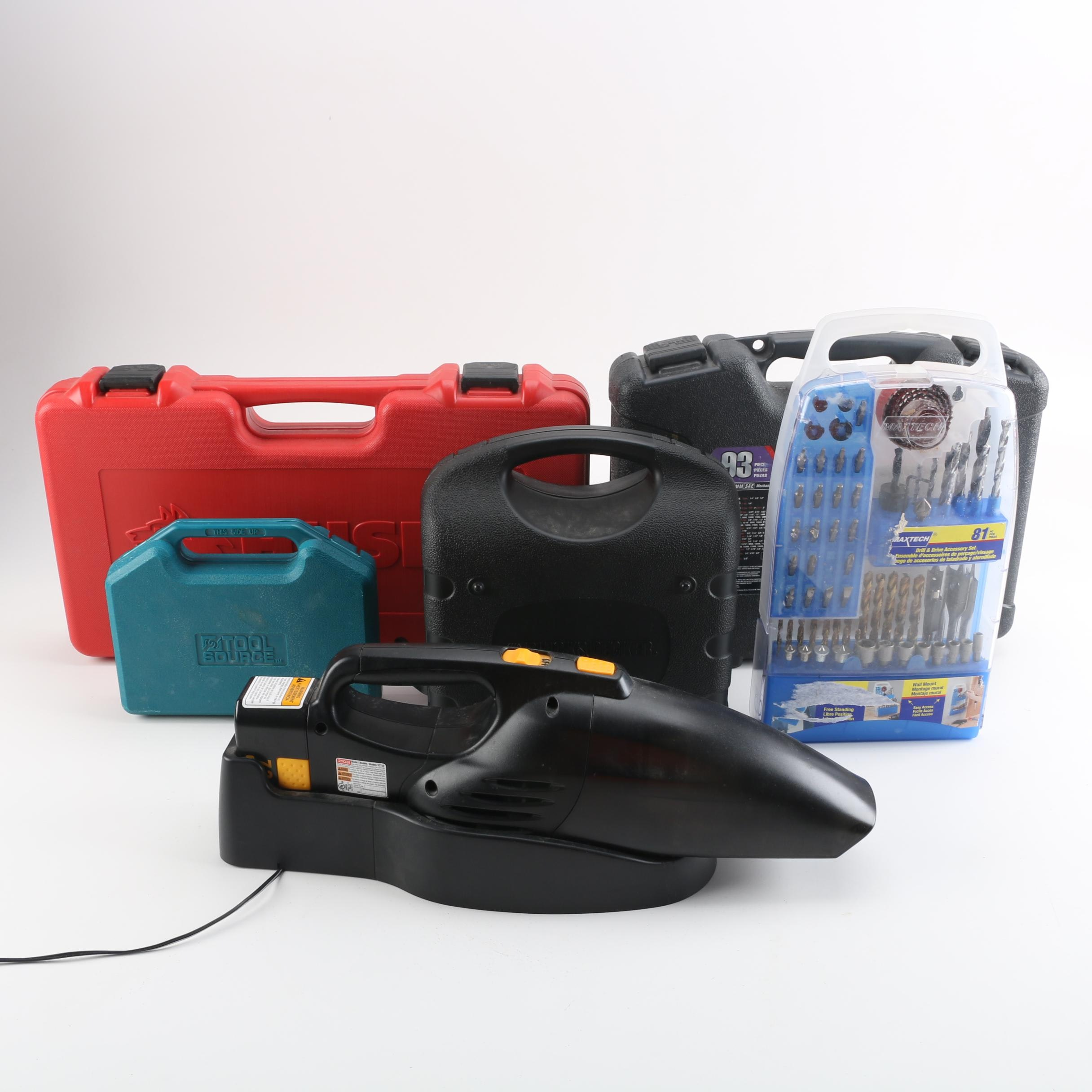 Tool Accessory Kits from Husky, Black+Decker, and More