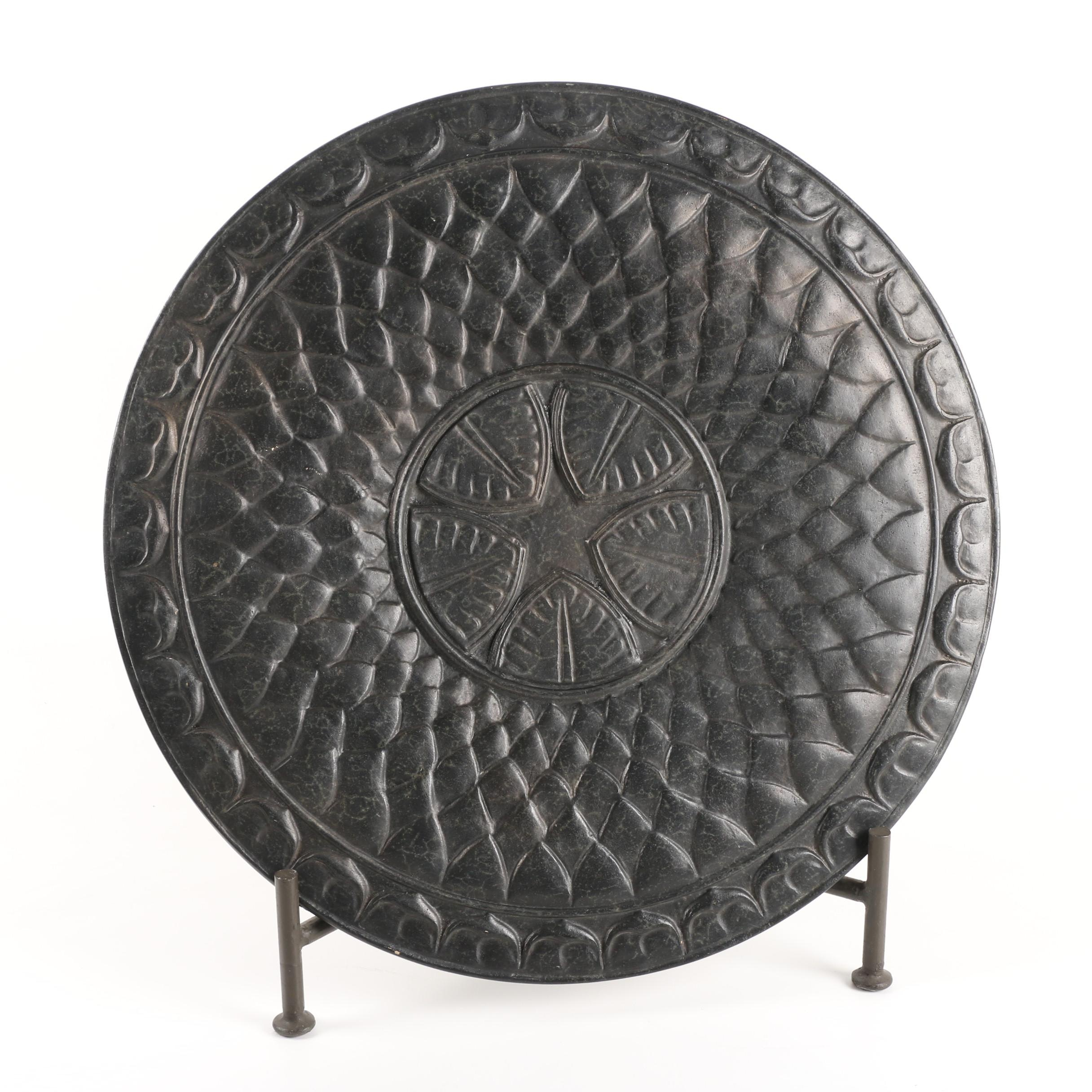 Decorative Ceramic Plate with Stand