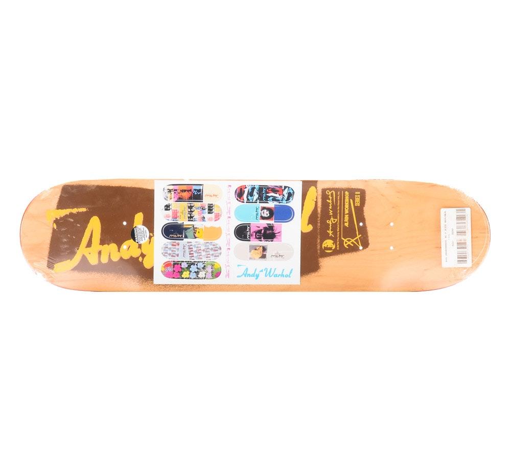 Alien Workshop x Andy Warhol Foundation Skateboard Deck Series II Omar Salazar