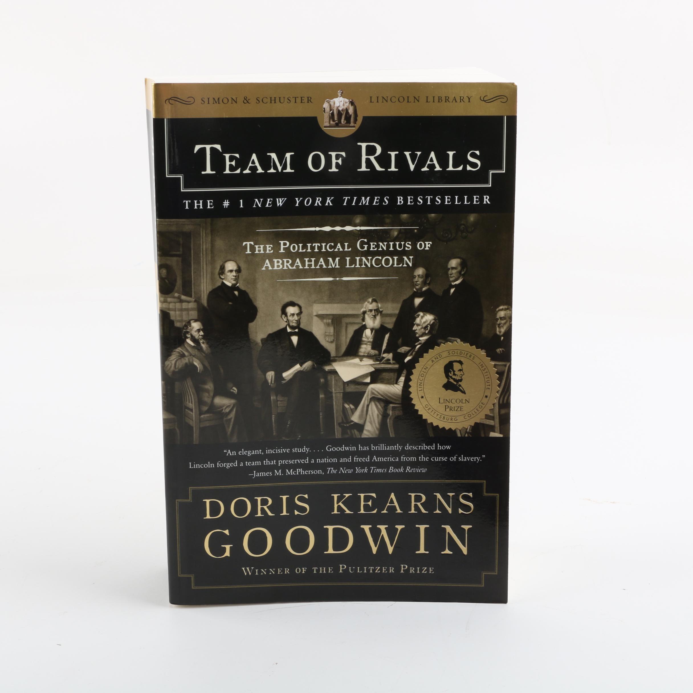 "Signed ""Team of Rivals"" by Doris Kearns Goodwin"