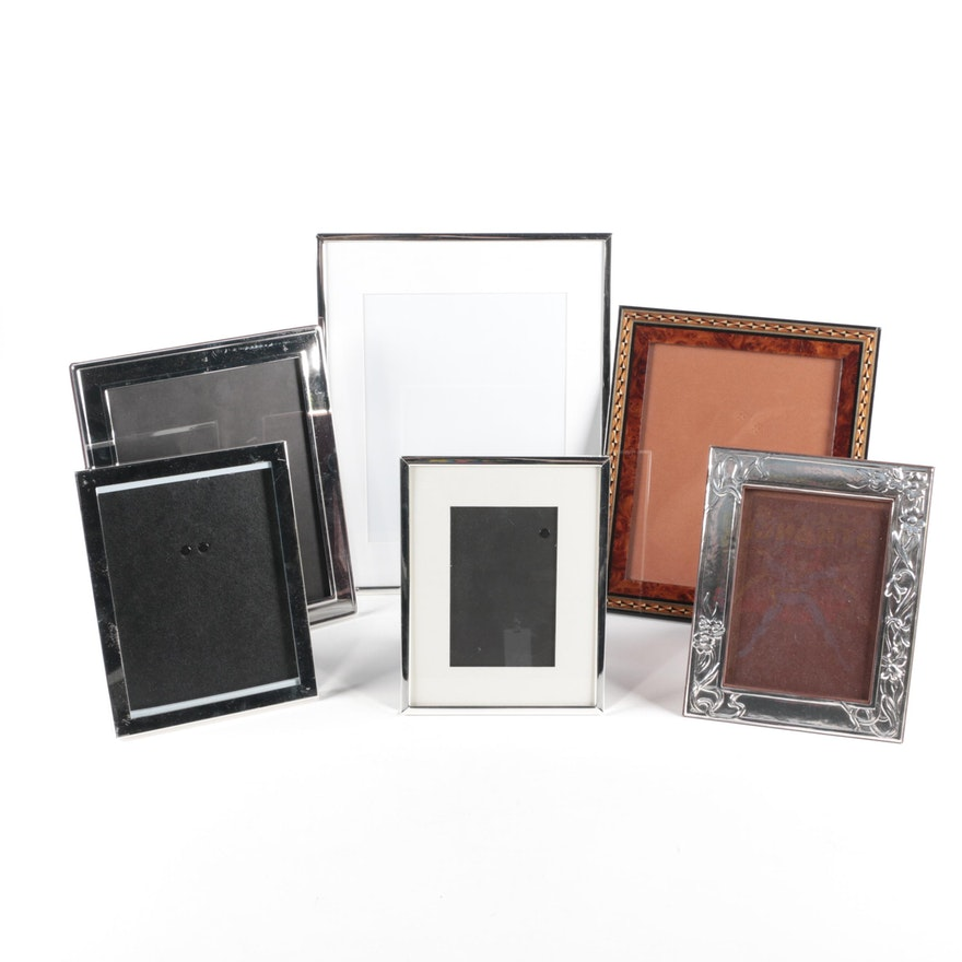 Metal, Wood and Glass Picture Frames Featuring Aaron Brothers : EBTH