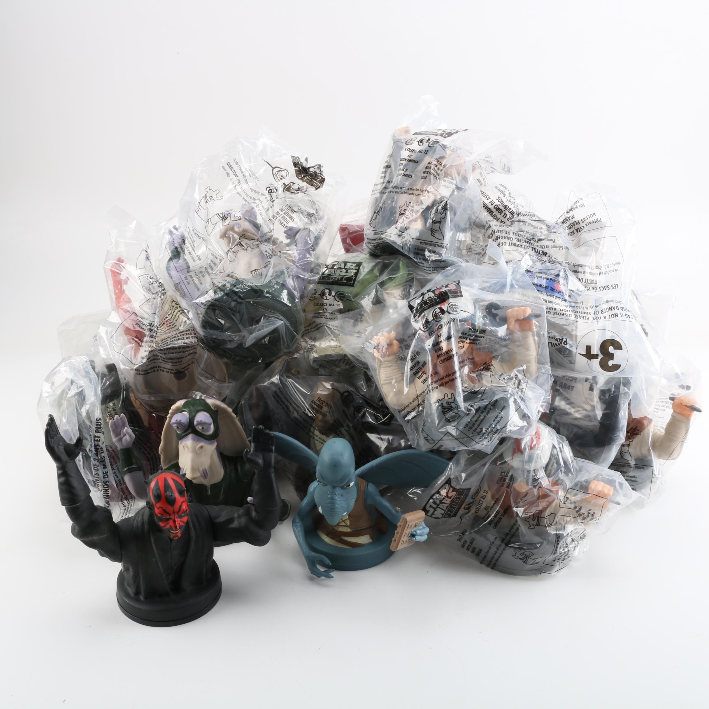 "Vinyl Figurative ""Star Wars: Episode I Phantom Menace"" Cup Lids"