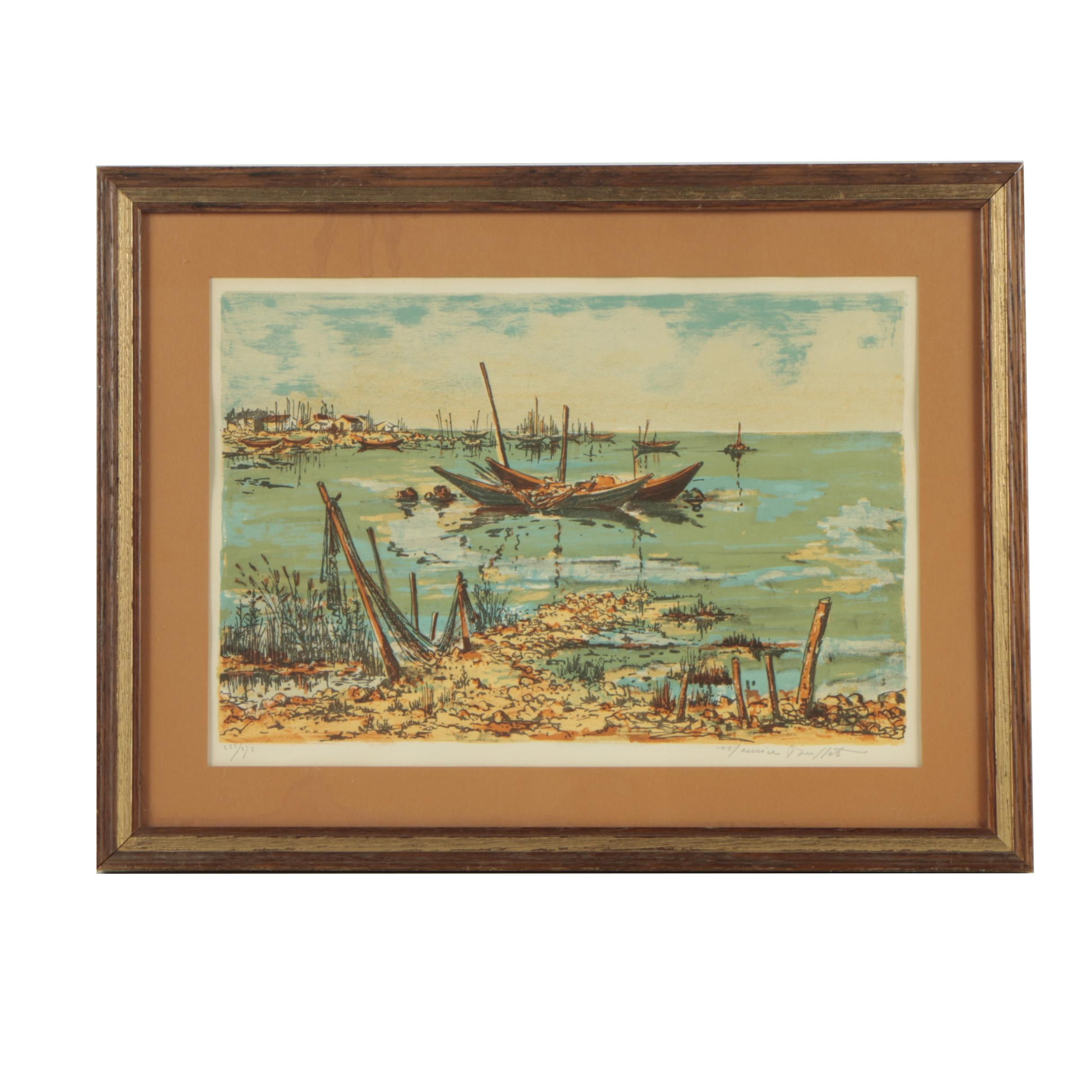Maurice Buffet Limited Edition Color Lithograph