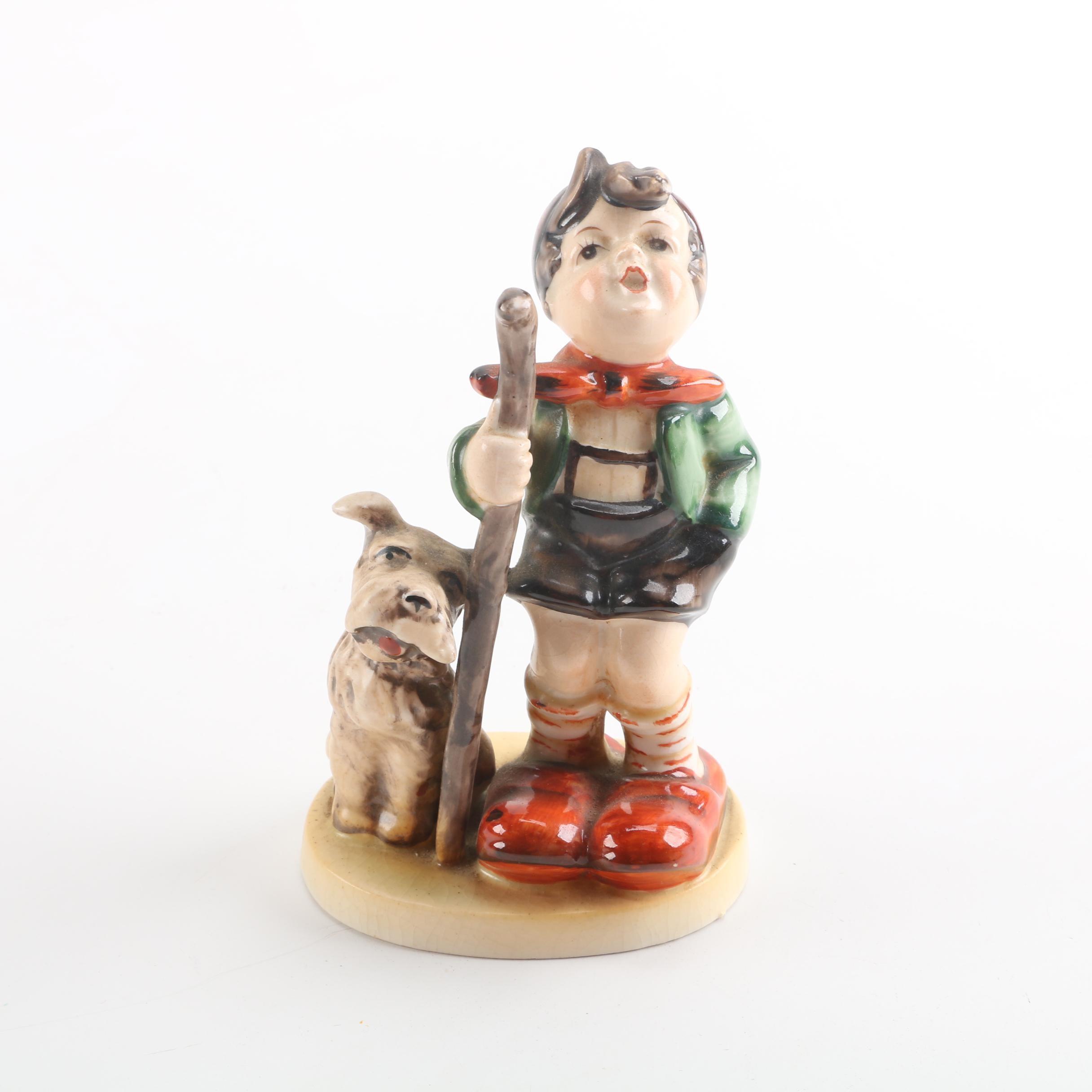 Maruyama Japanese Ceramic Figurine