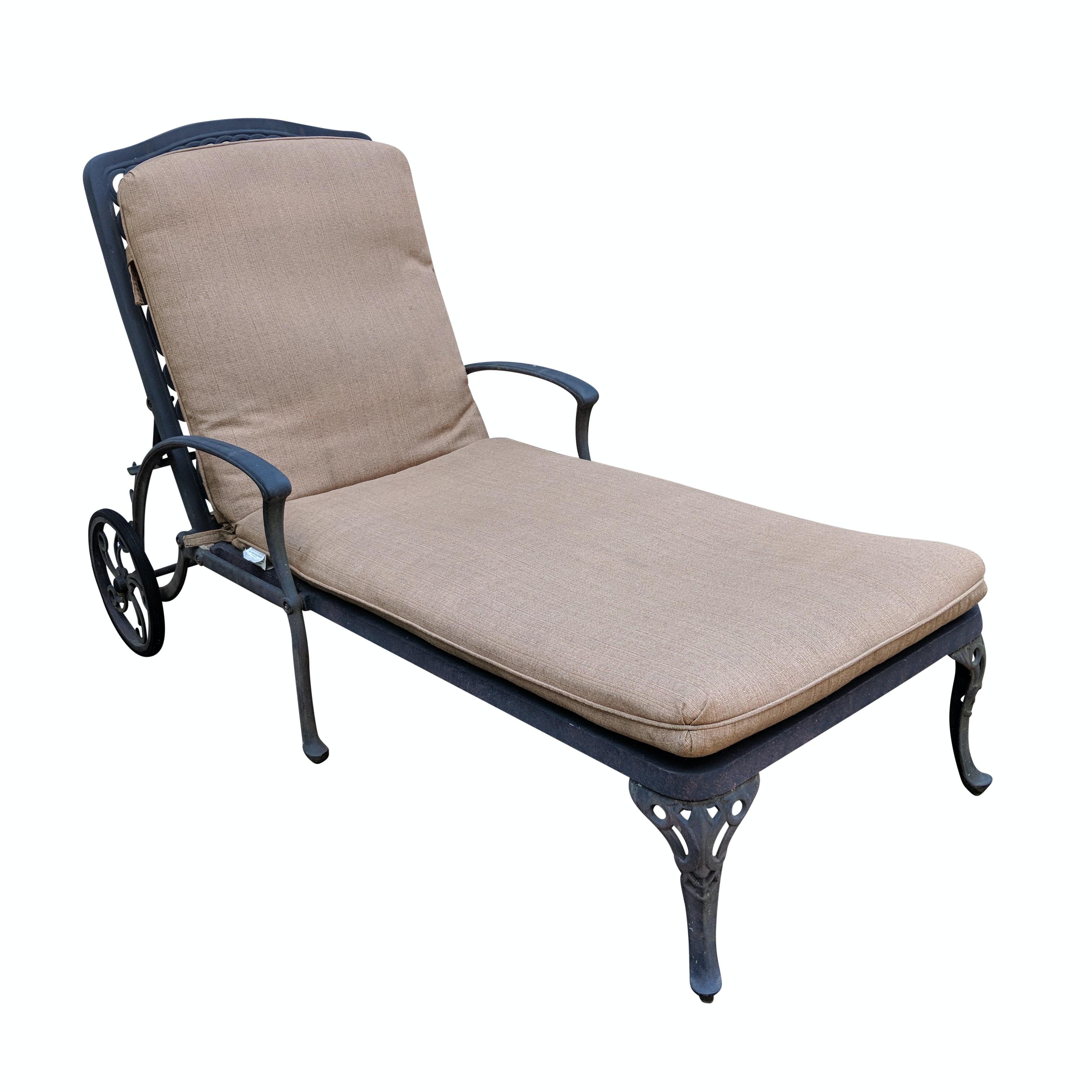 "Hanamint ""Tuscany"" Cast Aluminum Chaise Lounge"