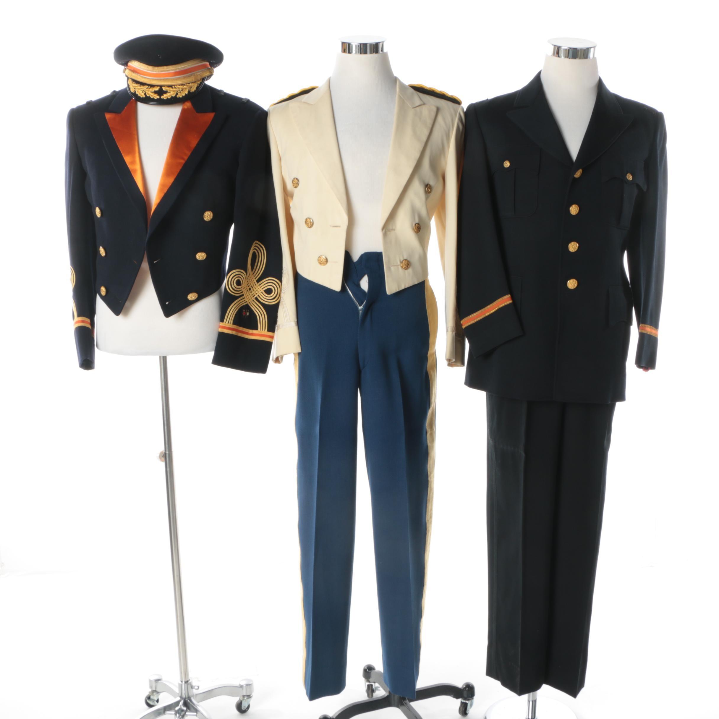 Men's Vintage US Army Dress Uniforms