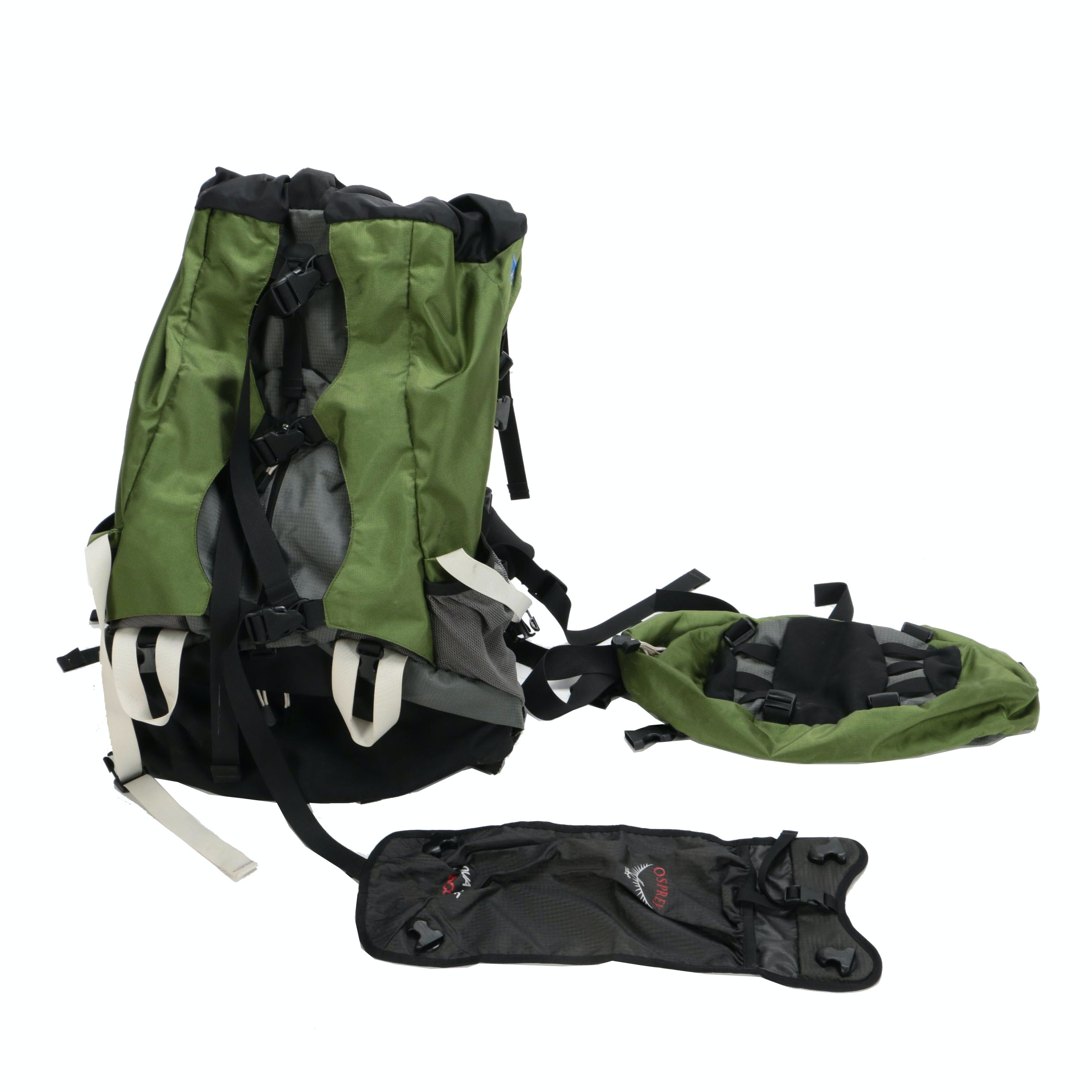 Osprey Nylon Hiking Backpack with BioForm Harness