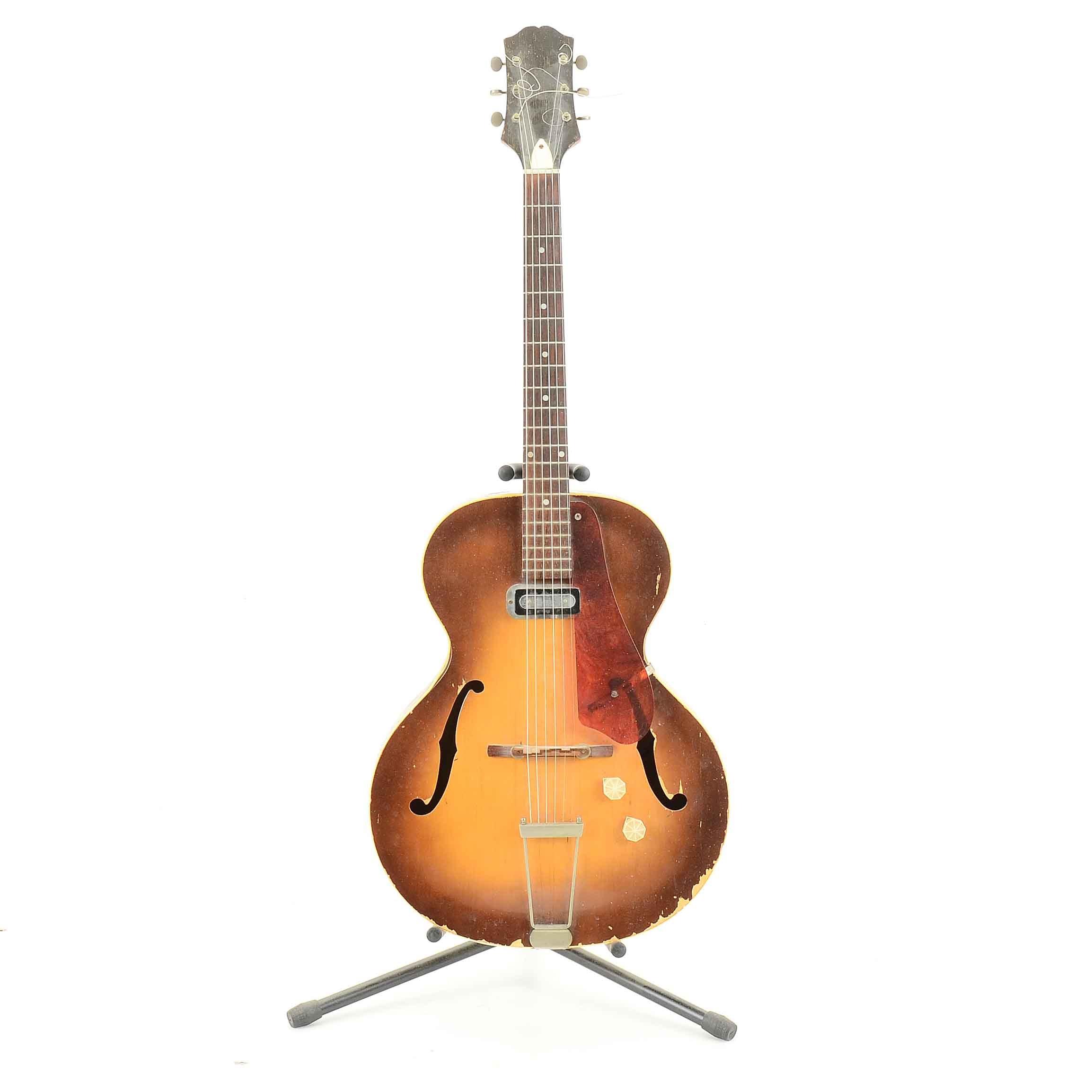 "Vintage Epiphone ""Century"" Archtop Electric Guitar"