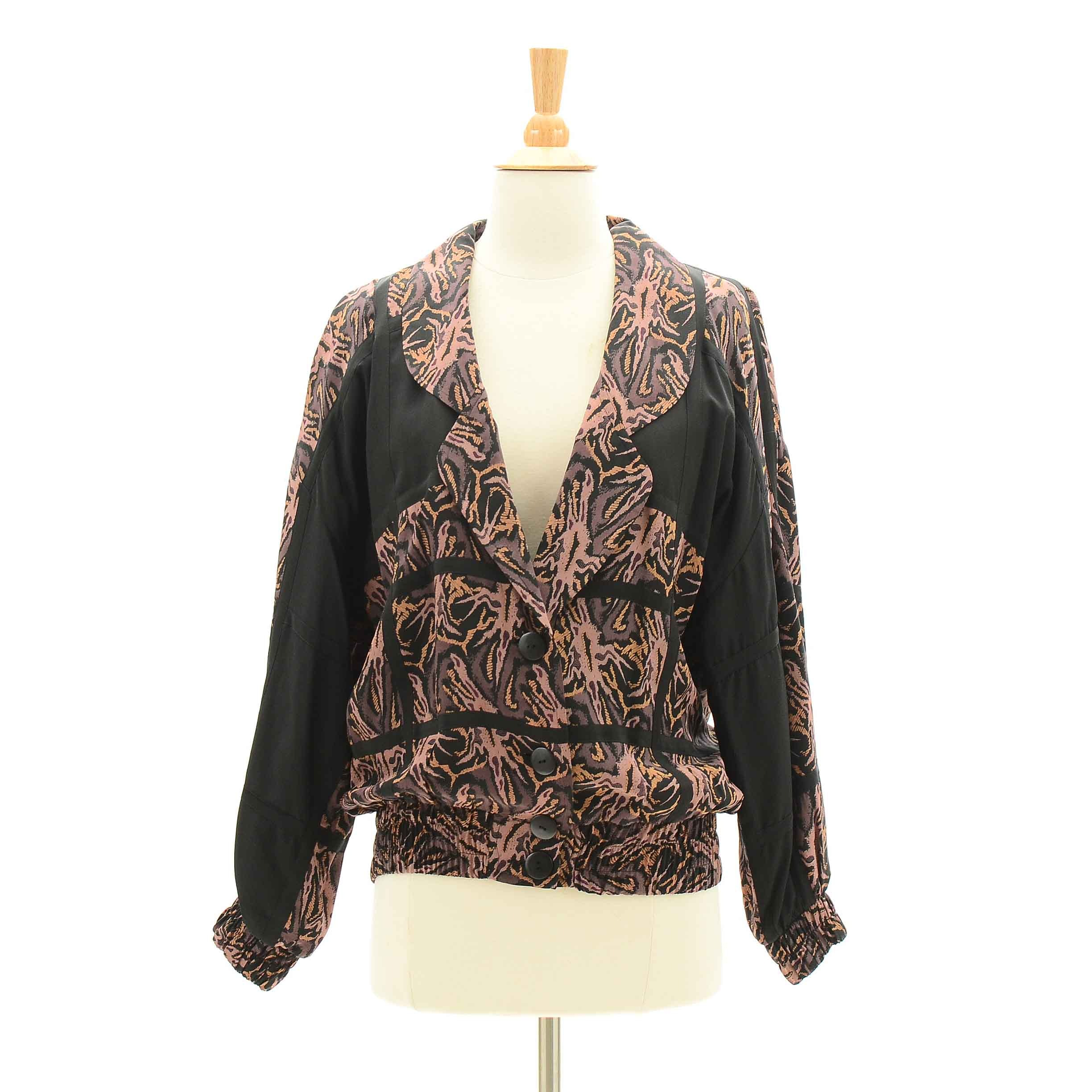 Women's 1980s Vintage Silk Jacket