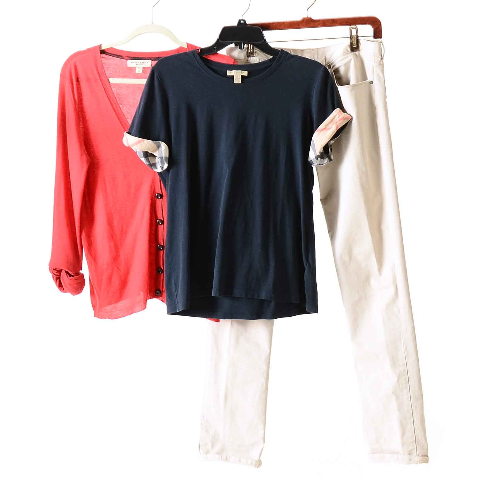 Collection of Women's Burberry Clothing