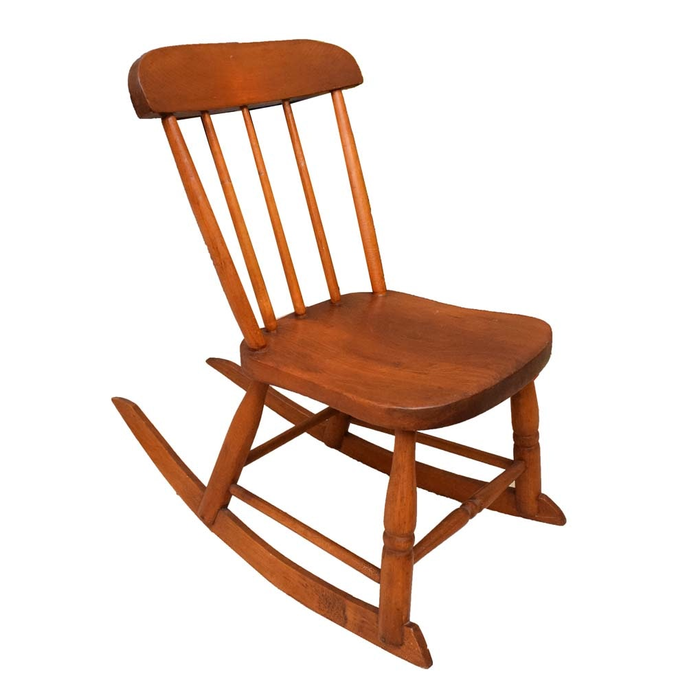 Child's Cherry Rocking Chair
