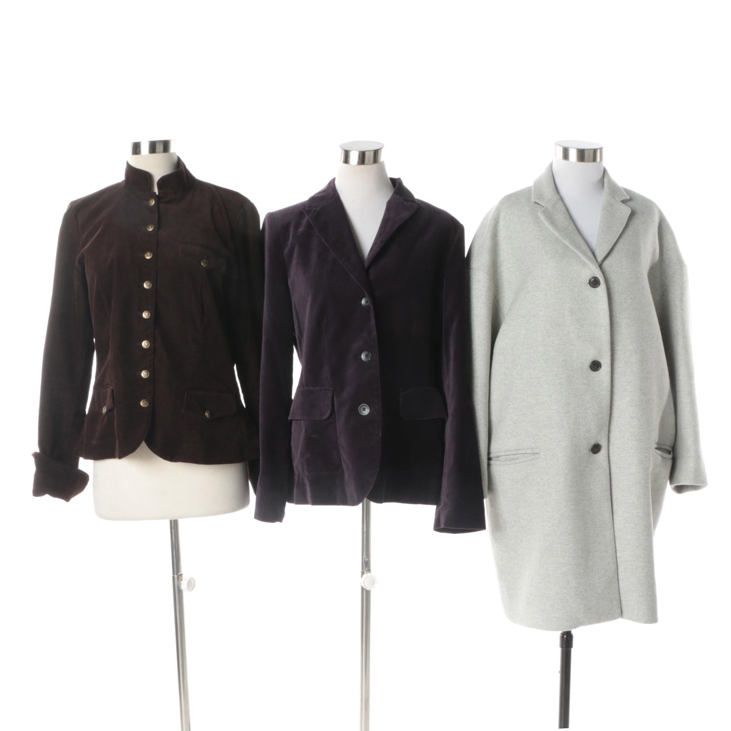 Women's Jackets and Coat Including Eddie Bauer and Gap