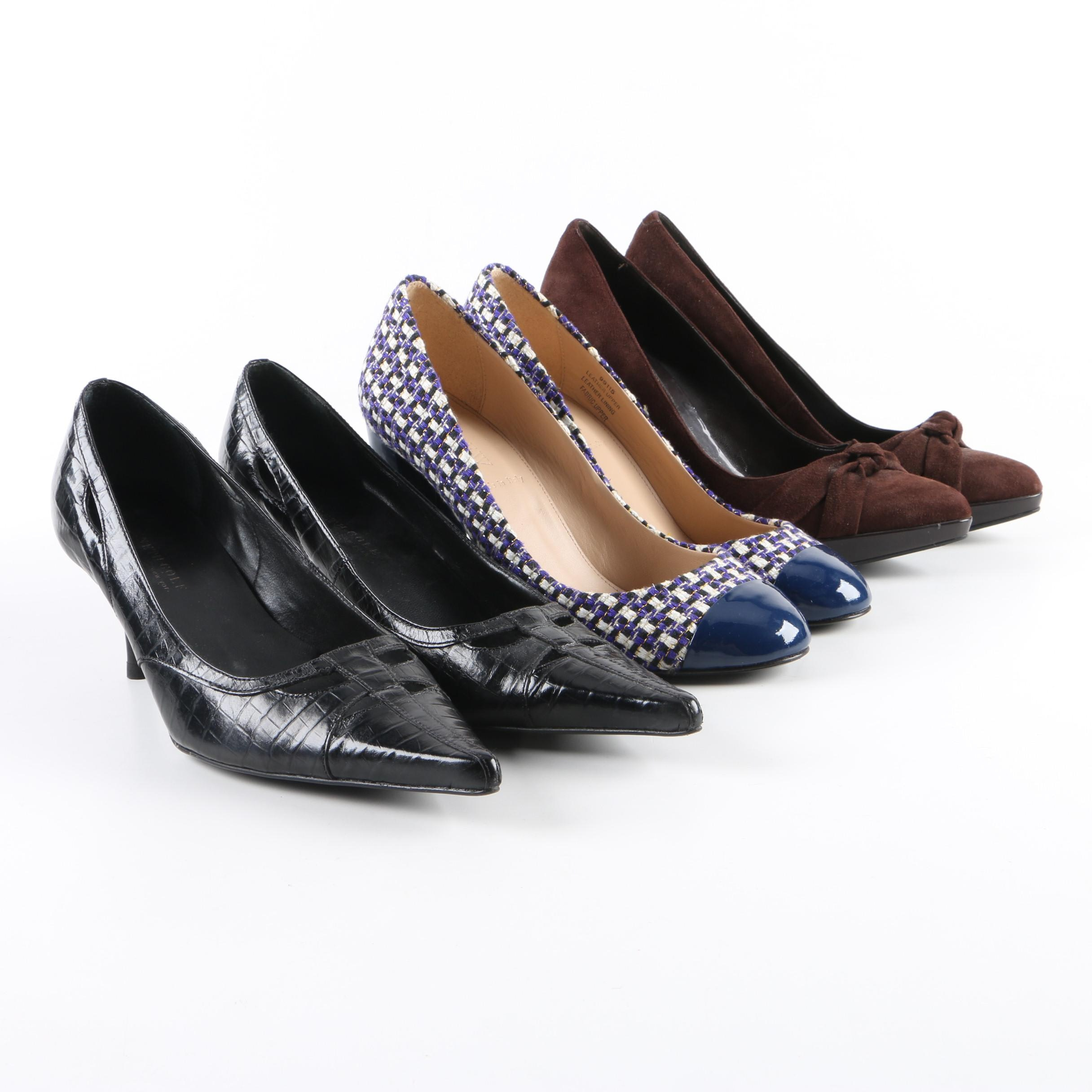 Women's High-Heeled Shoes Including Kenneth Cole and J.Crew
