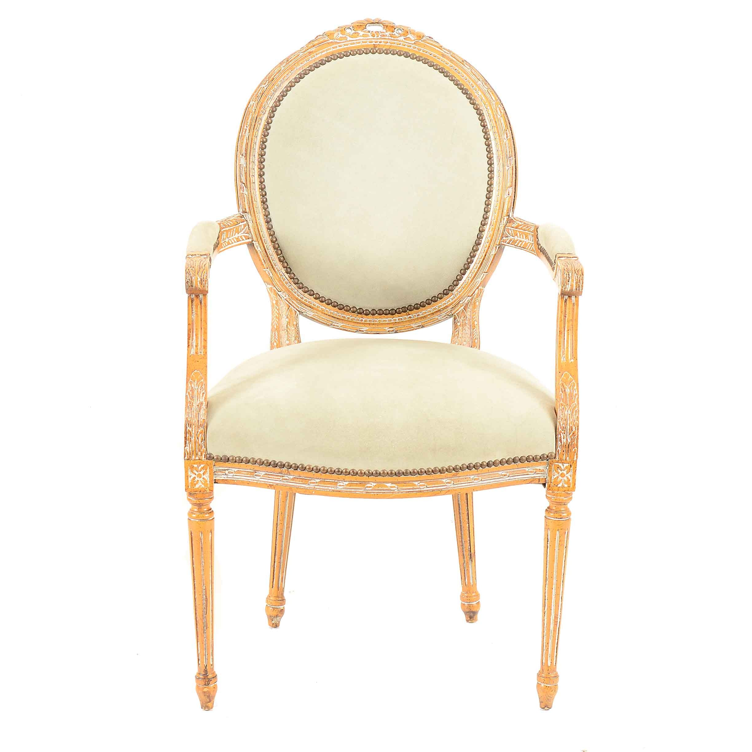 Louis XV Chair by Kenyon Home Furnishings, Itd.