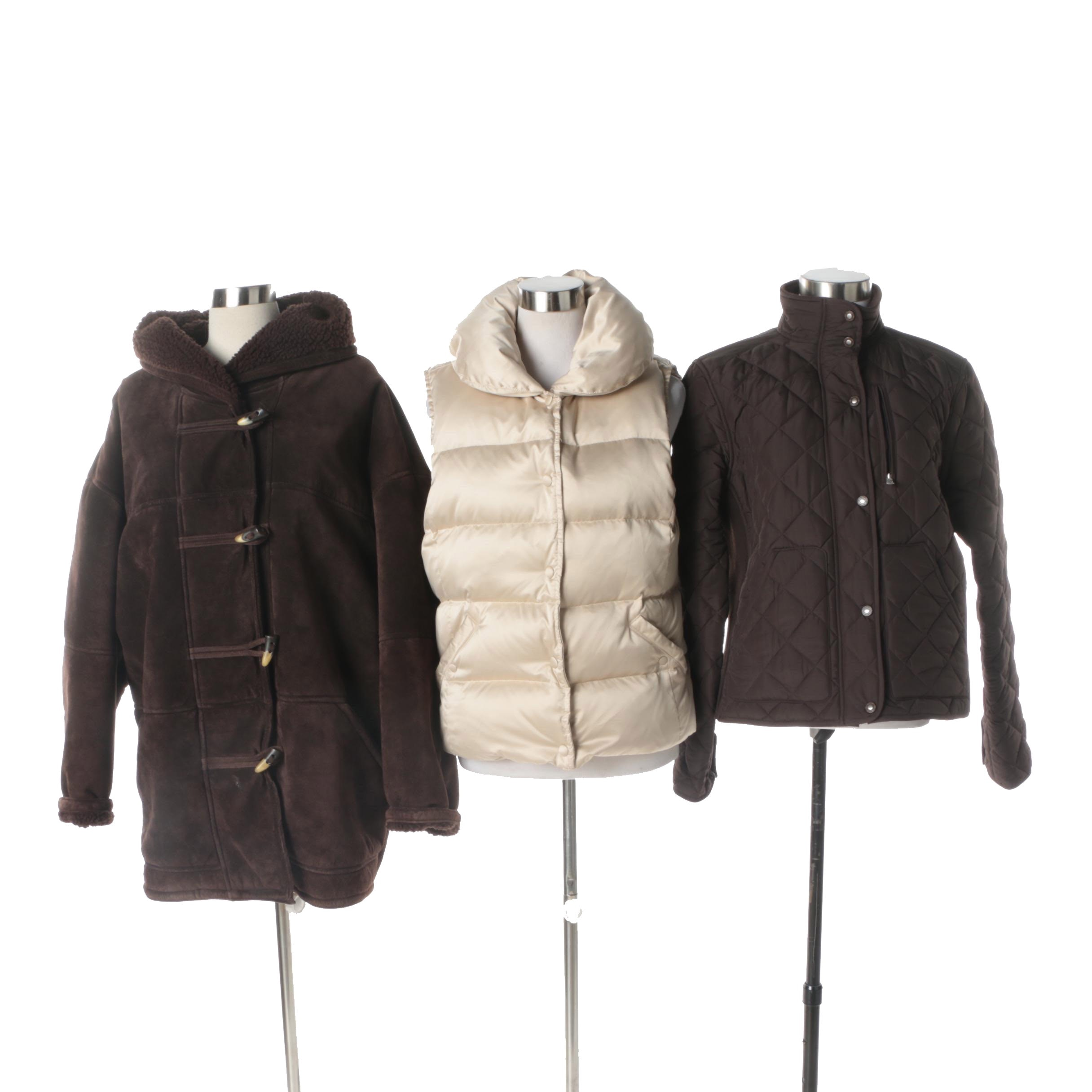 Women's Outerwear Including Ann Taylor, Lauren Ralph Lauren and Lizwear