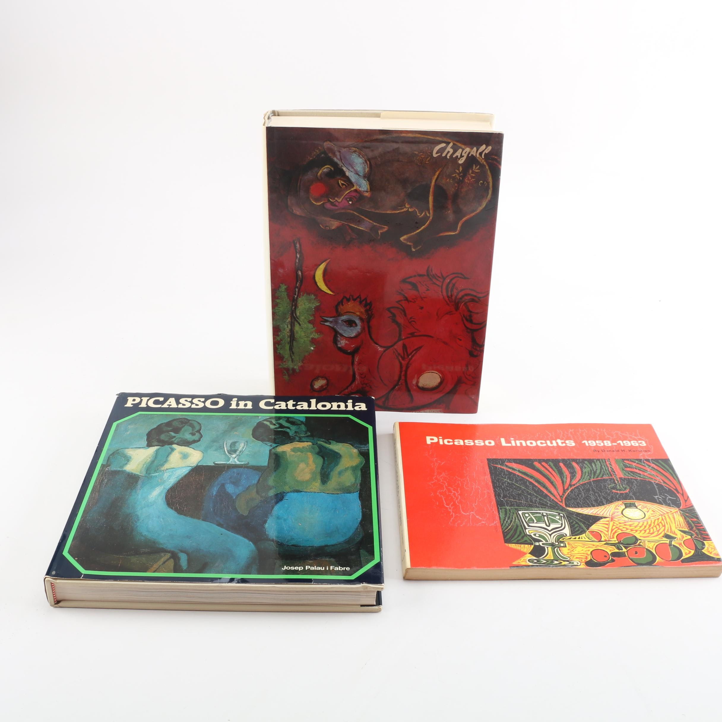 Art Books Featuring Picasso and Marc Chagall