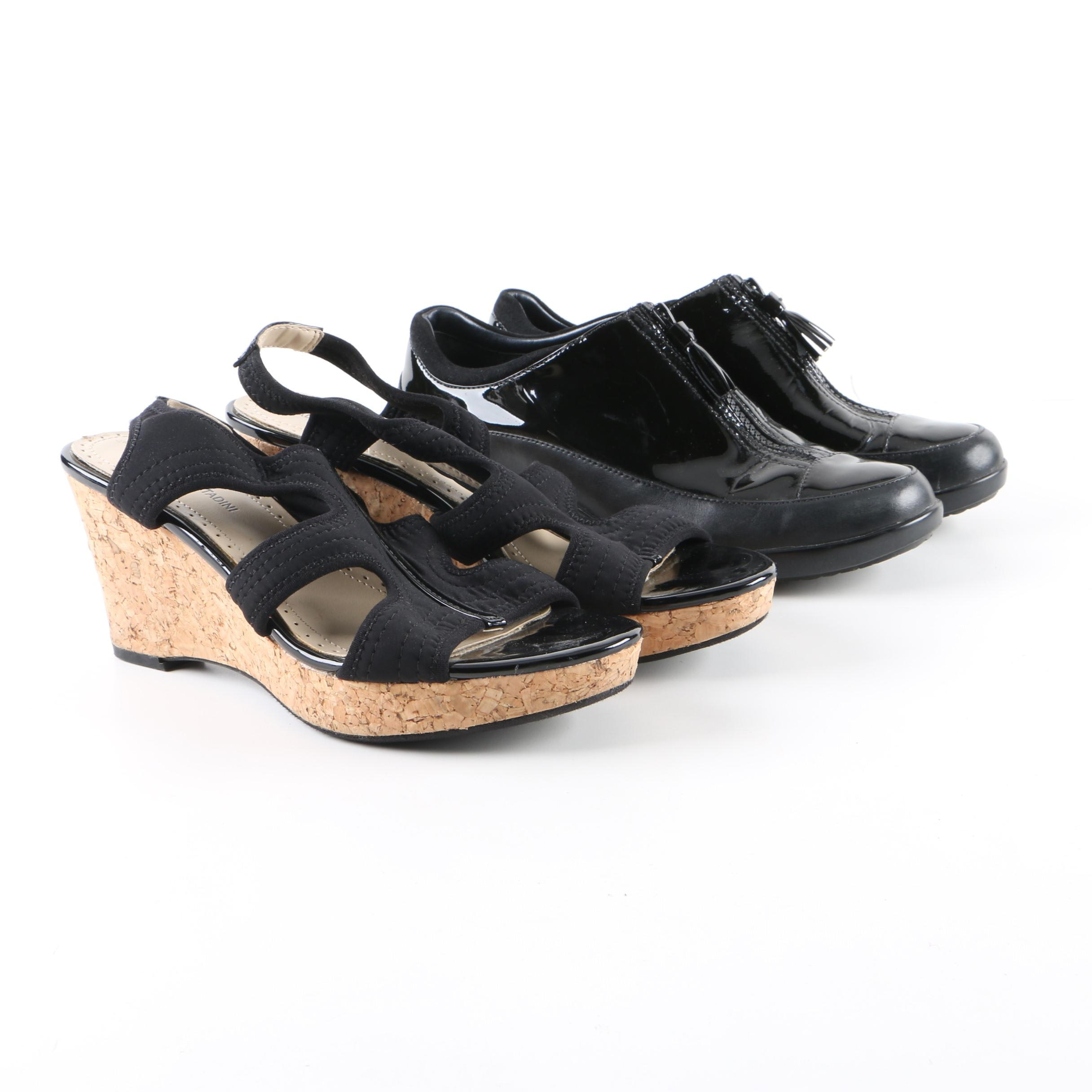 Women's Cole Haan and Adrienne Vittadini Wedges