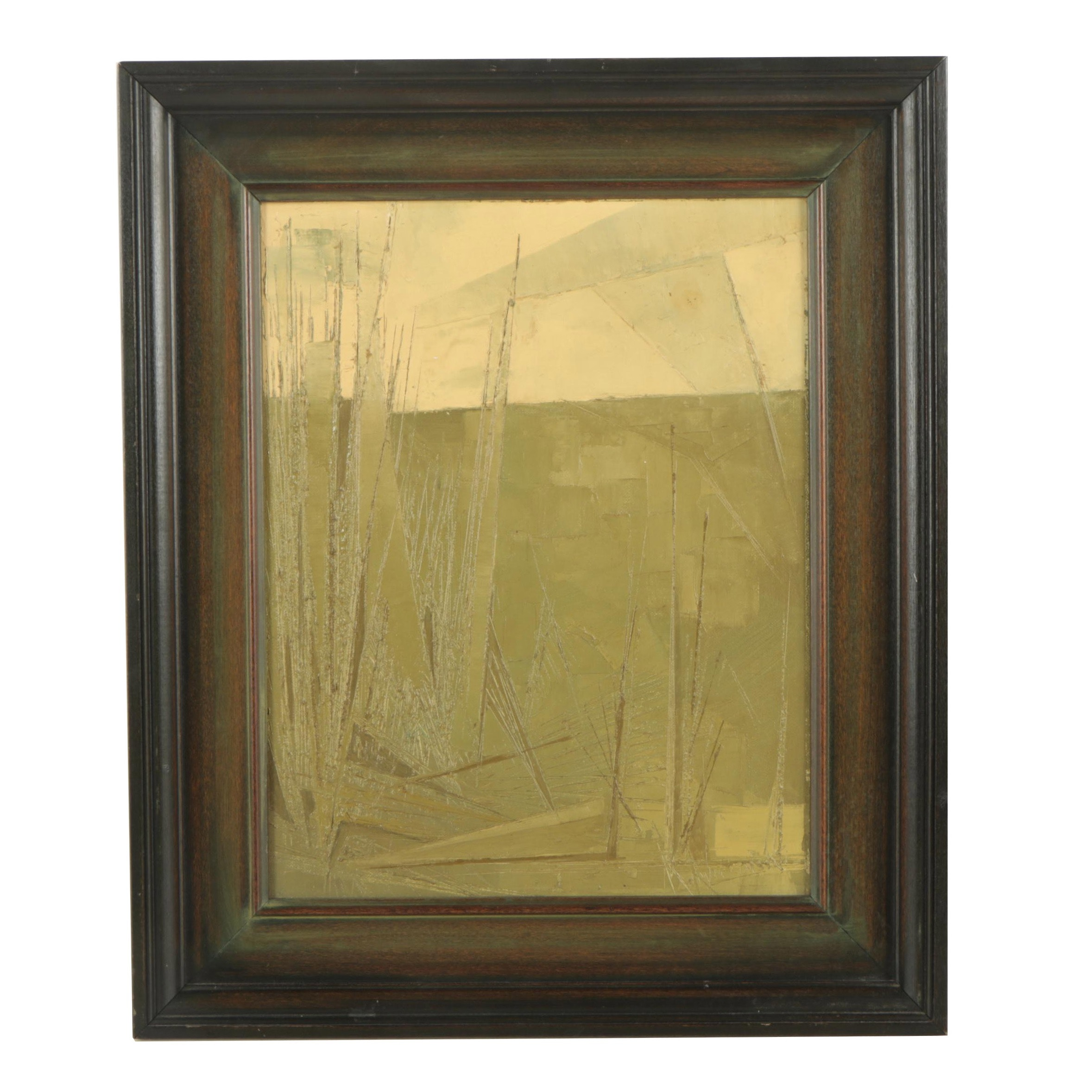 A. Kwiecinski Abstract Oil Painting
