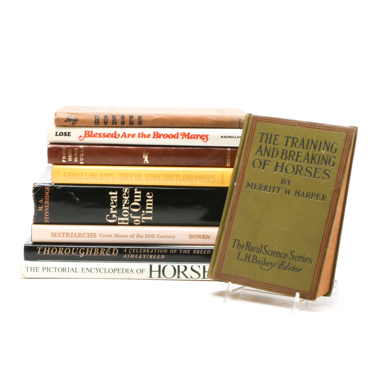 Horse Books Personally Owned By Cawood Ledford