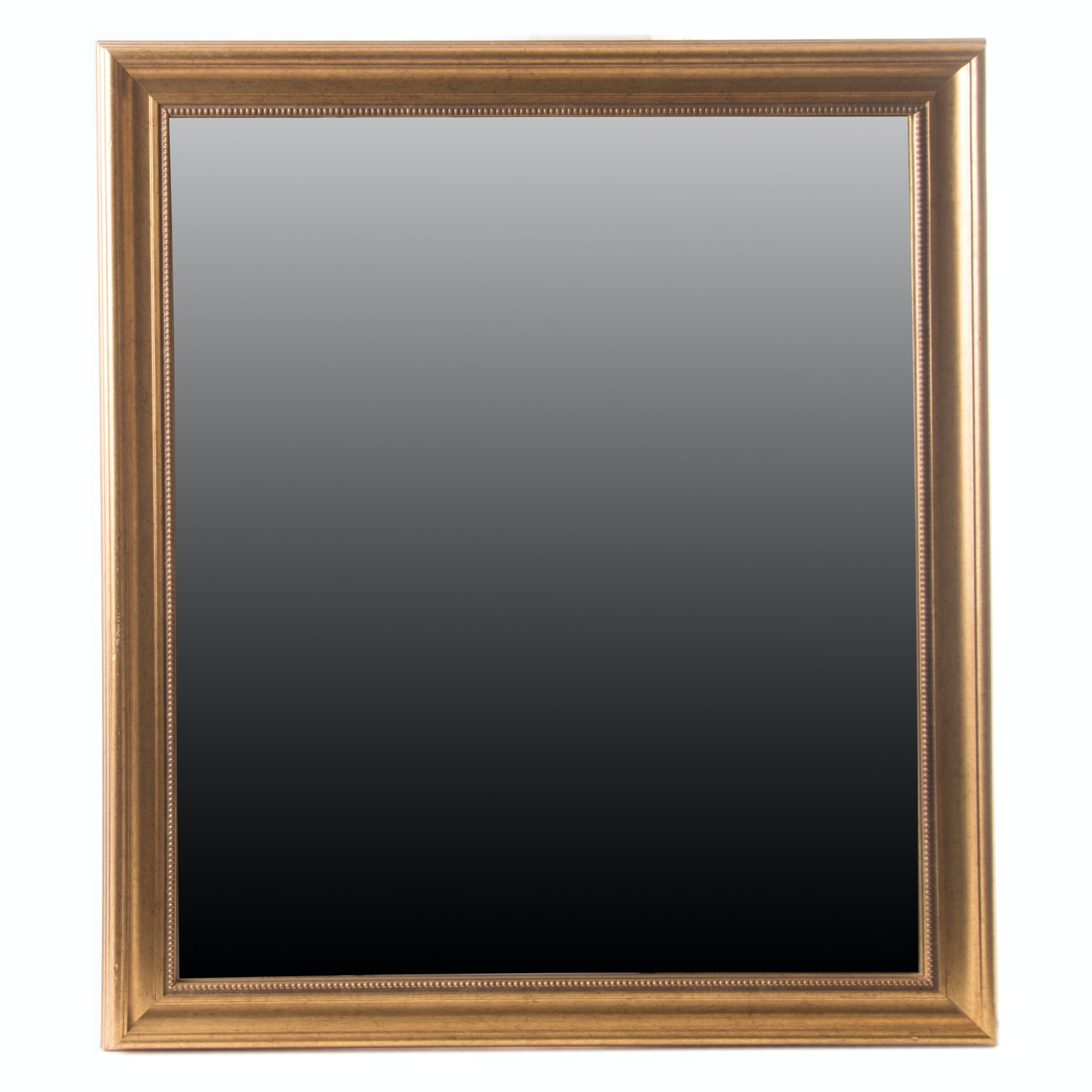 Gold Tone Accent Mirror