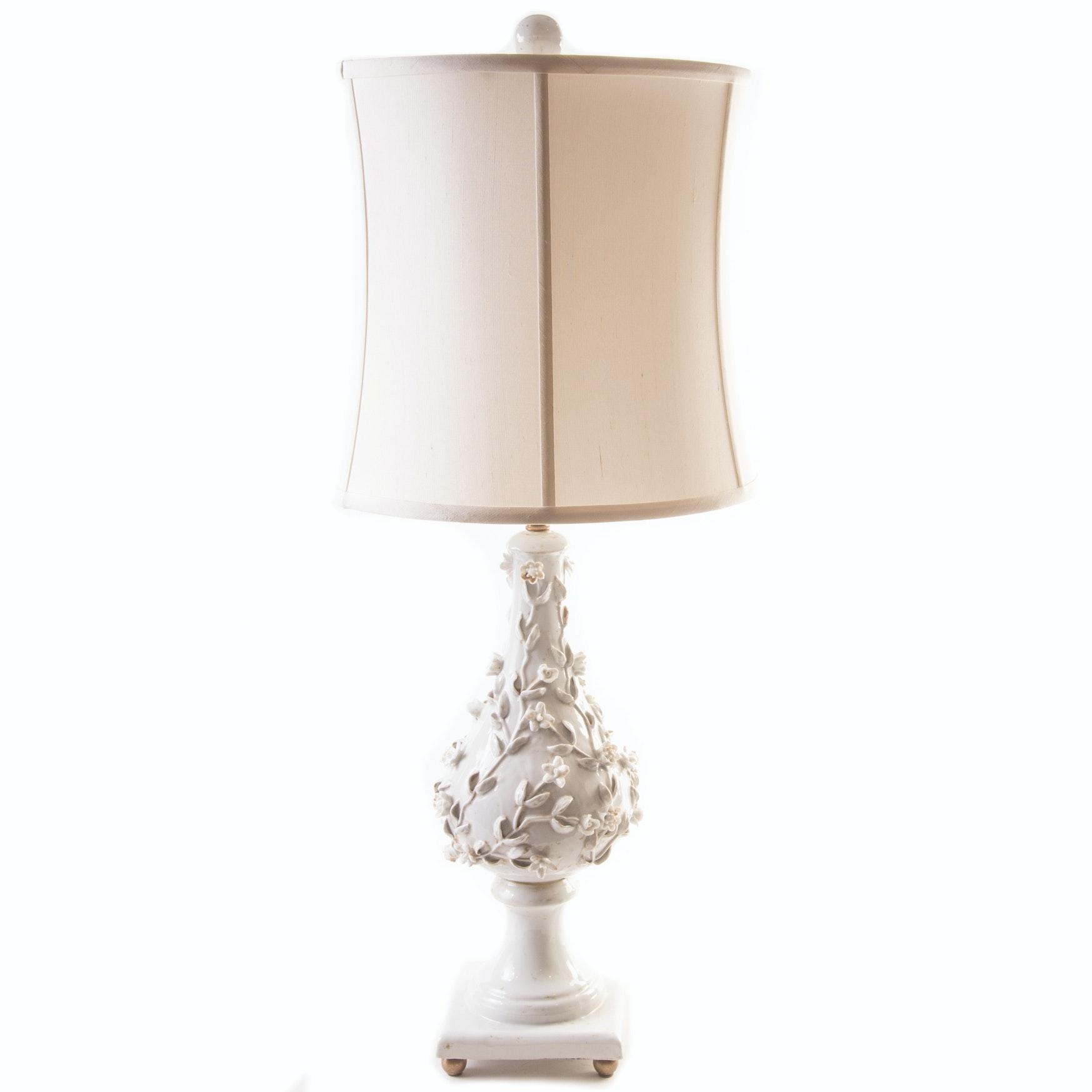 Vintage Porcelain Table Lamp