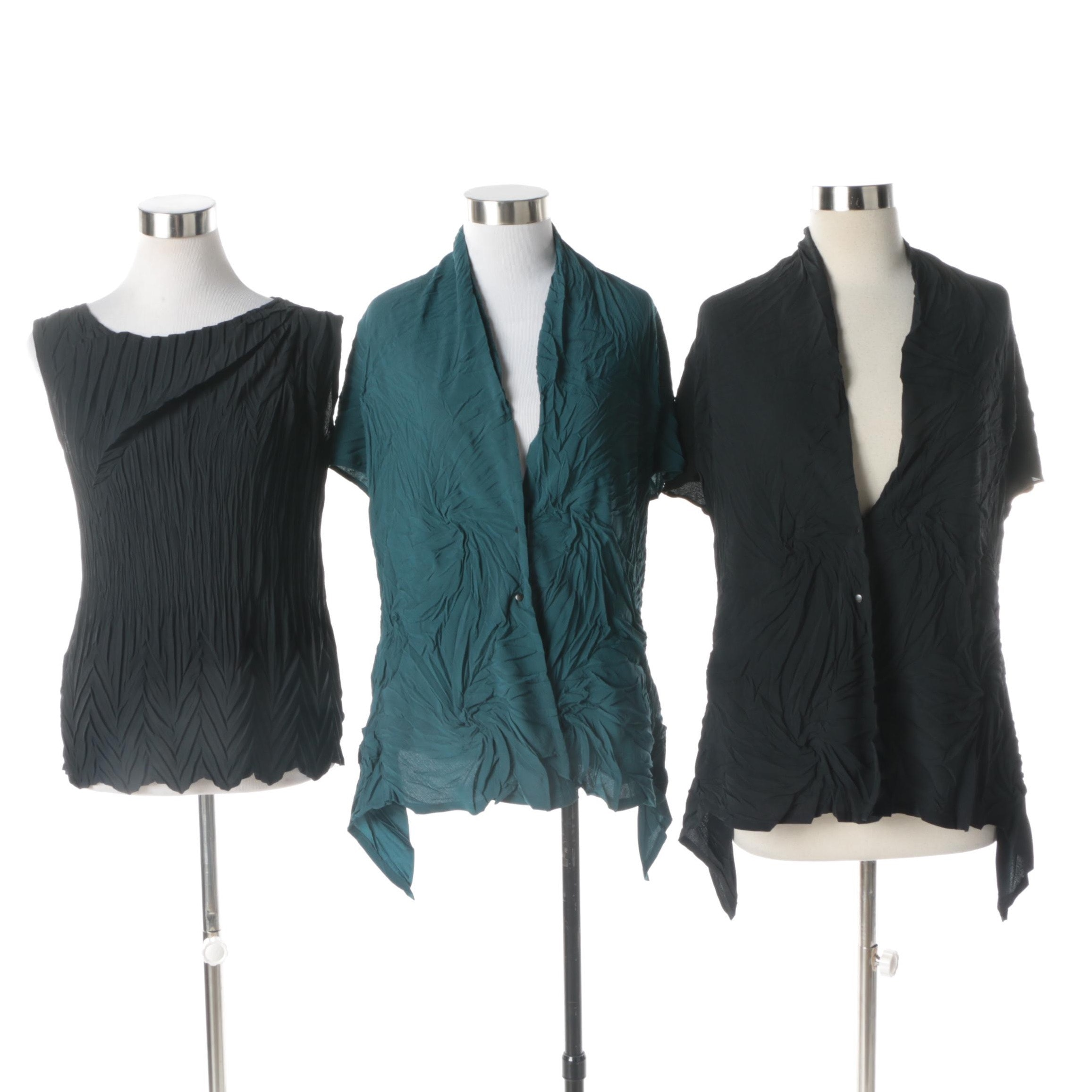 Women's Babette Textured and Crinkle Tops