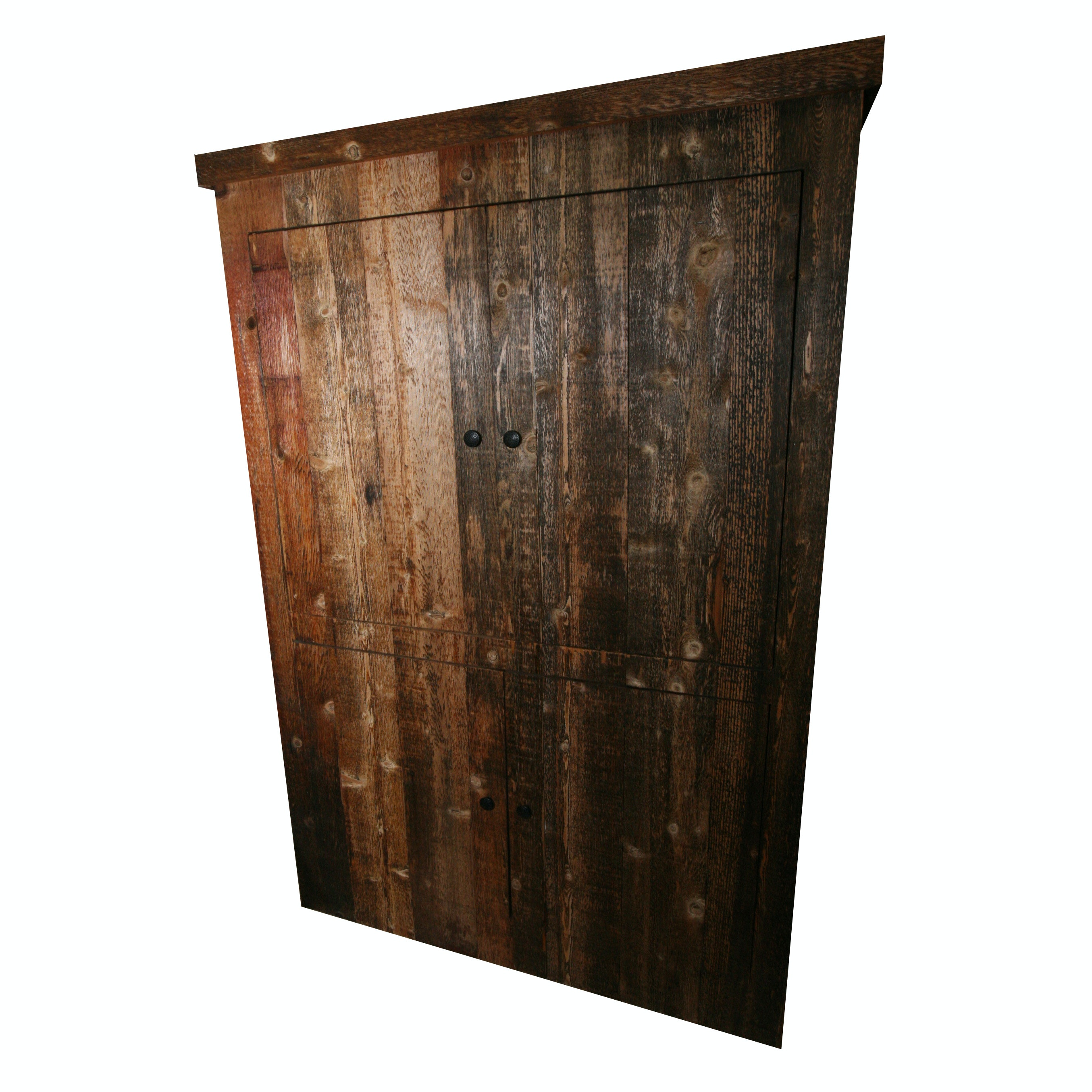 Rustic Style Entertainment Cabinet ...