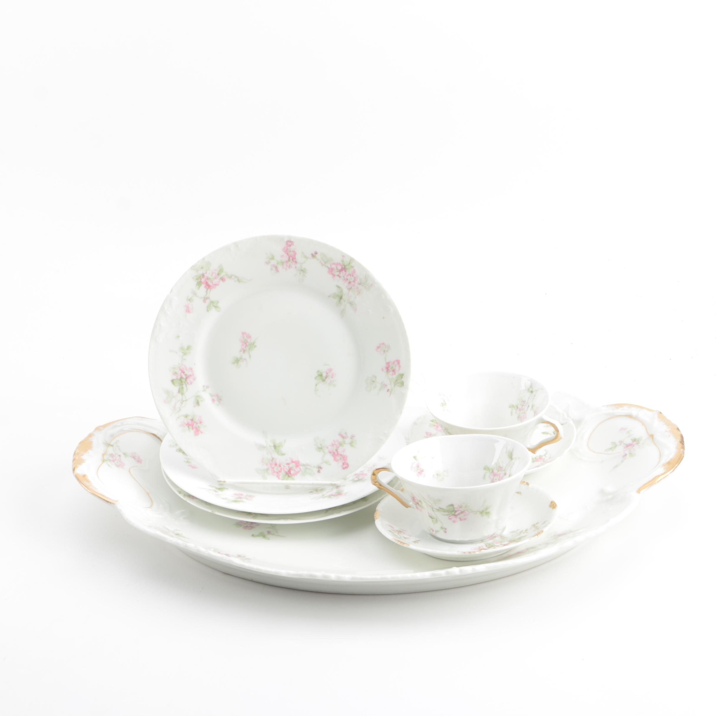 Vintage Theodore Haviland Limoges Porcelain Tableware