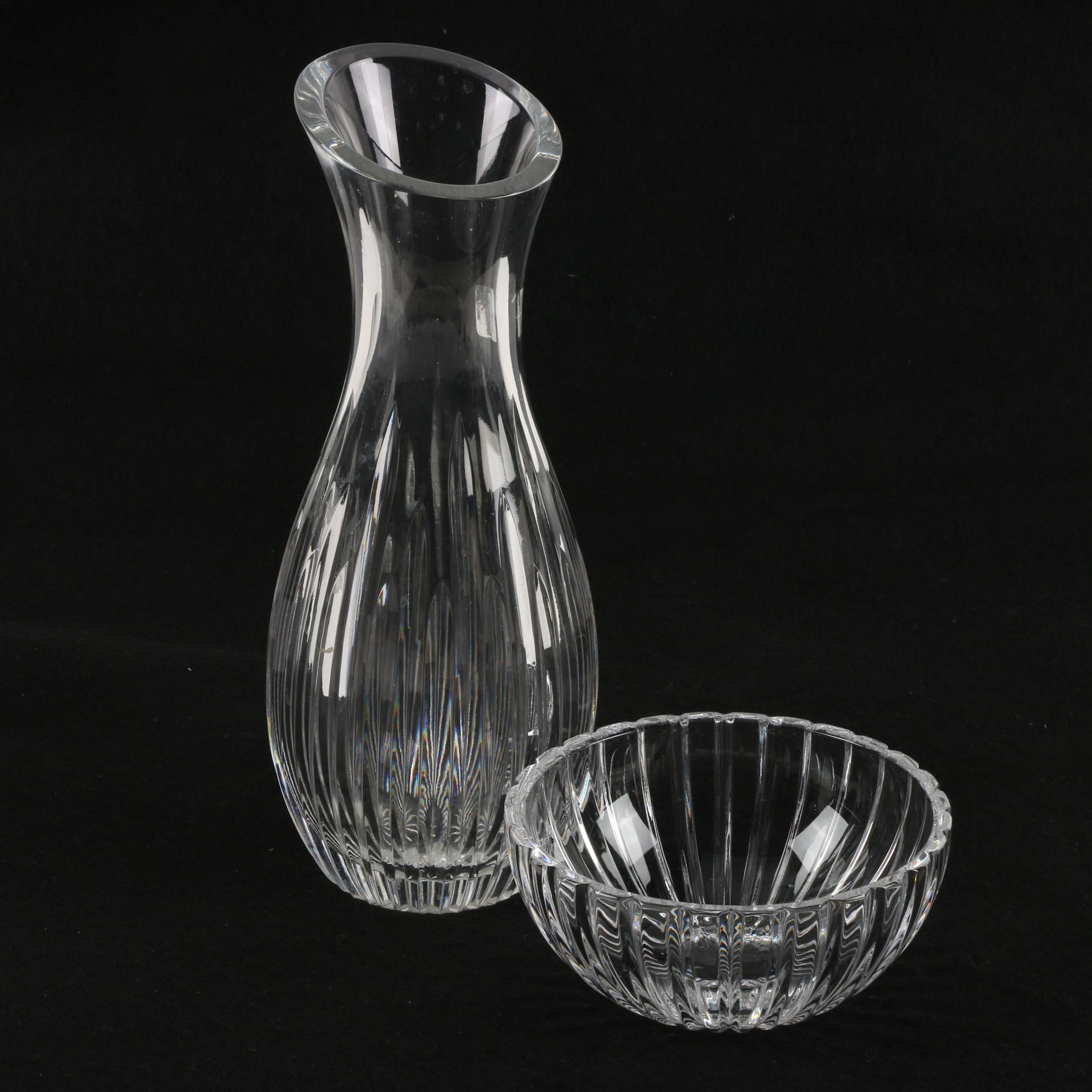 Marquis by Waterford Crystal Vase and Bowl