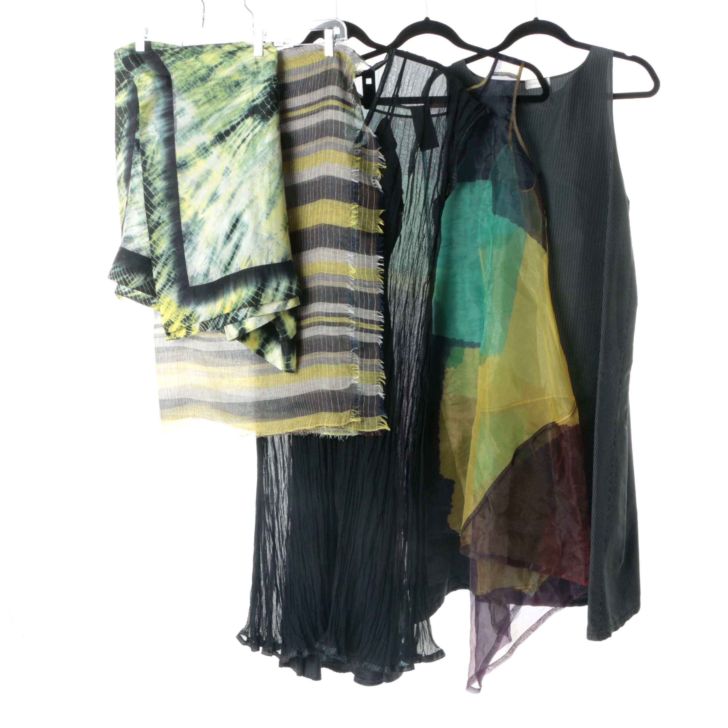 Women's Dresses and Wraps Including Krista Larson and Silk