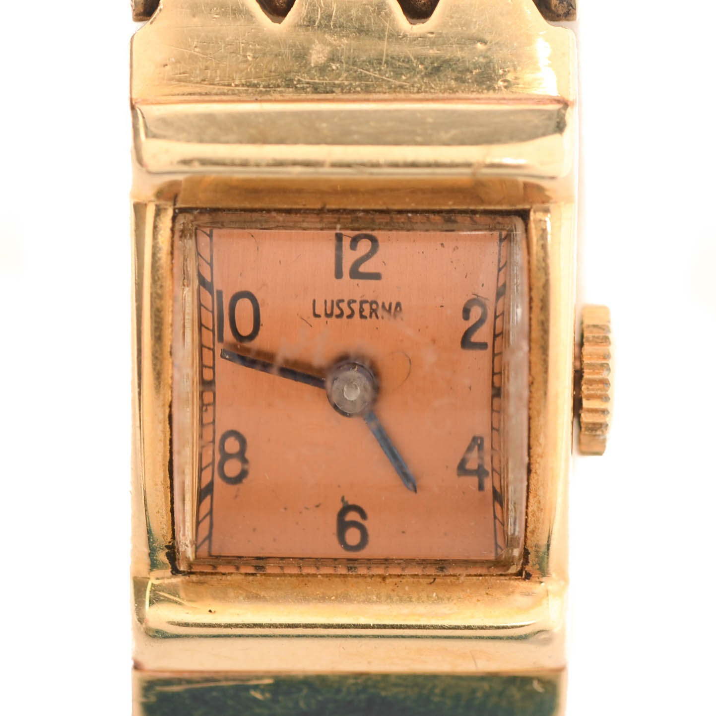 14K Yellow Gold Lusserna Wristwatch