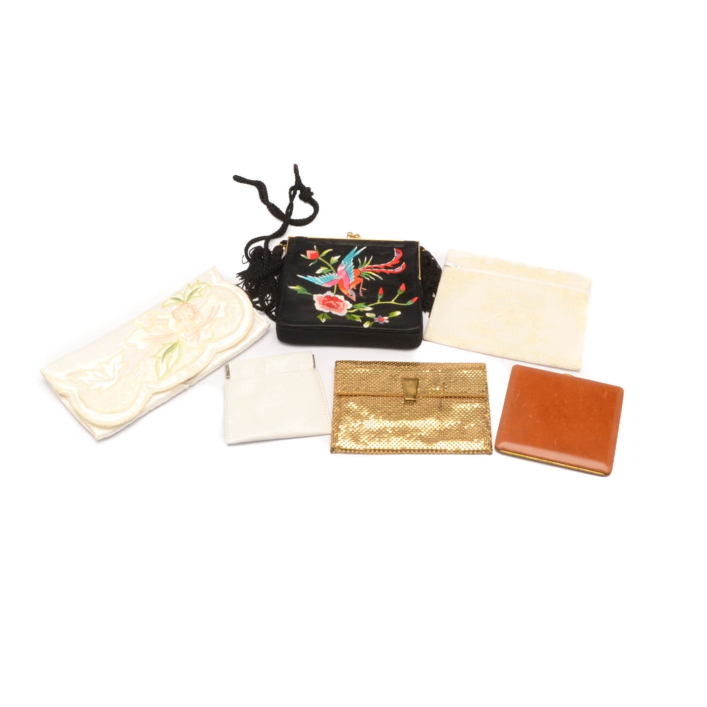Vintage Evening Bags and Clutches Including Neiman Marcus, Made in France