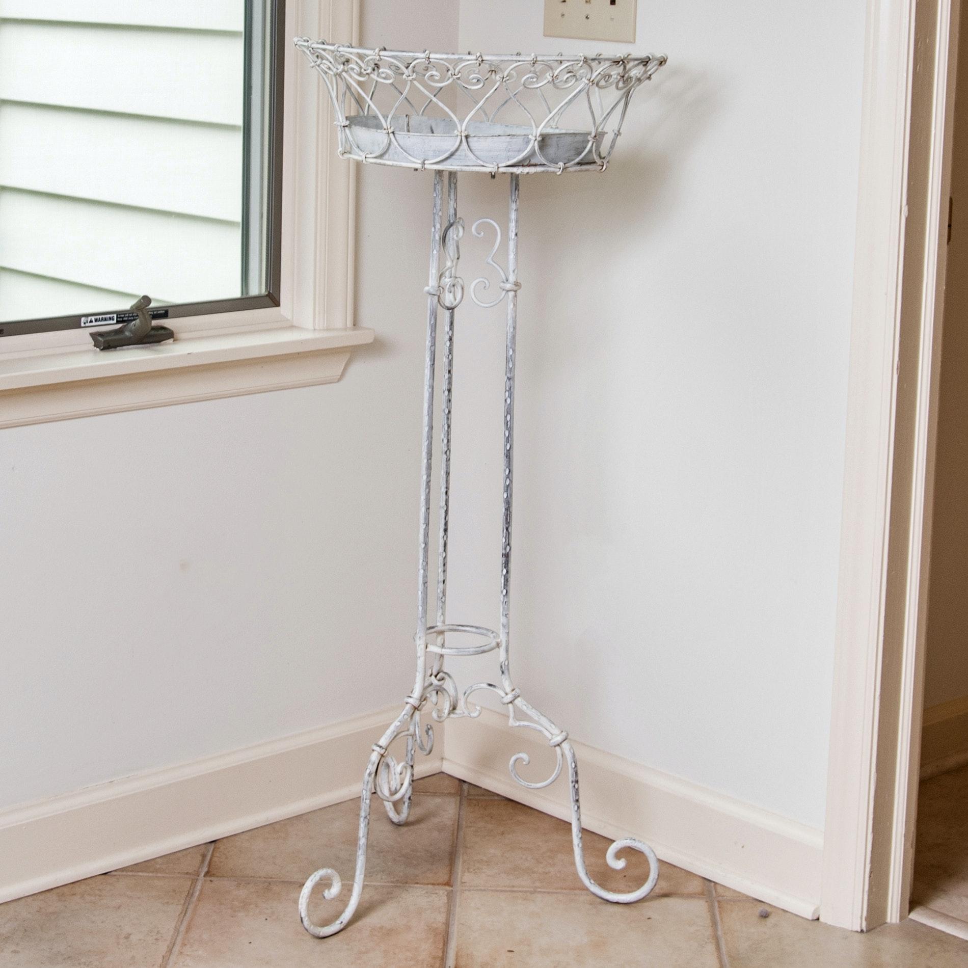Decorative Metal Plant Stand
