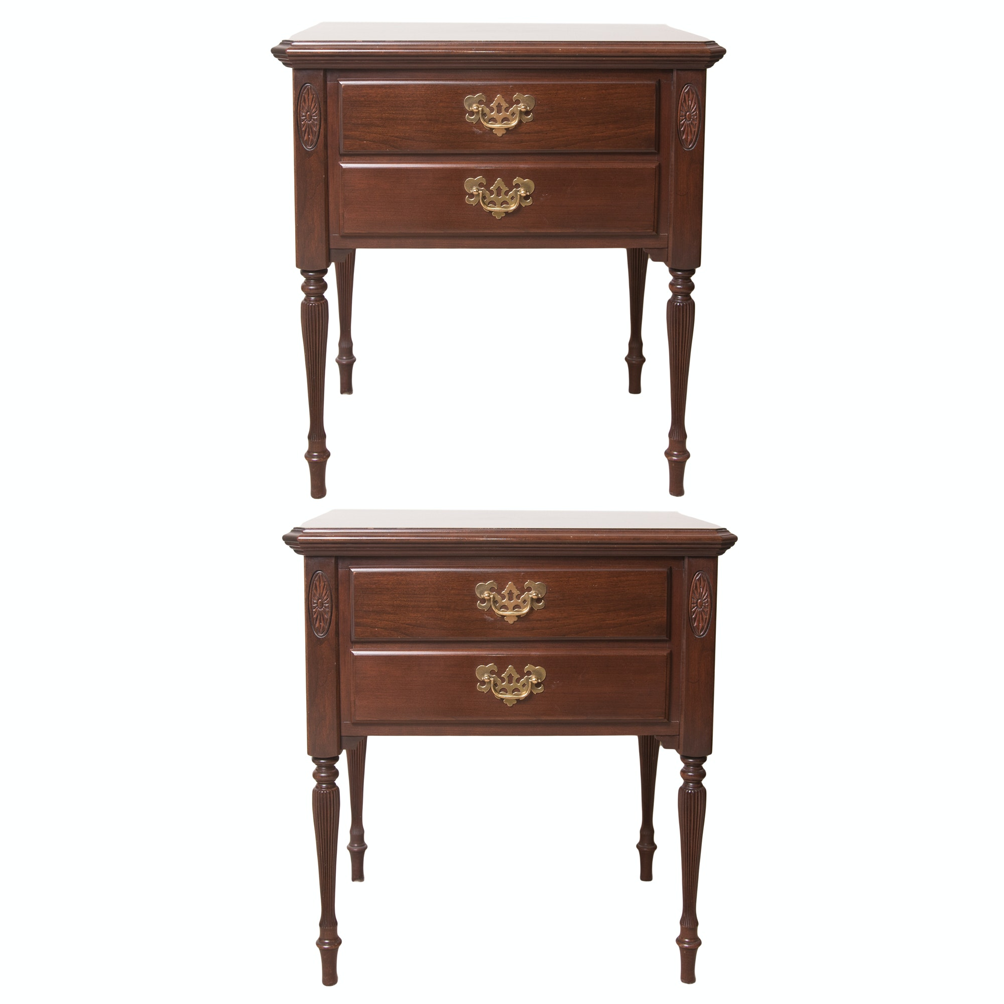 Colonial Revival Night Stands by Ethan Allen