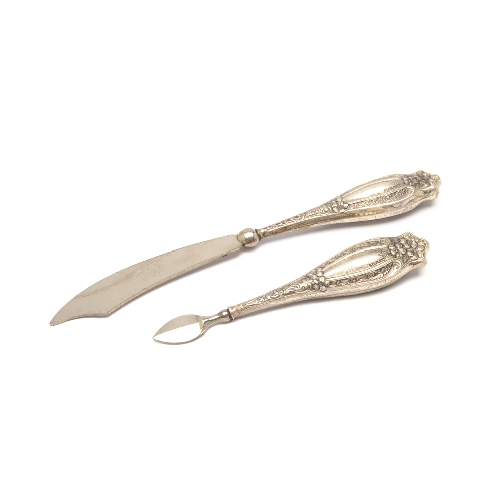 Two Piece of Sterling Silver Flatware