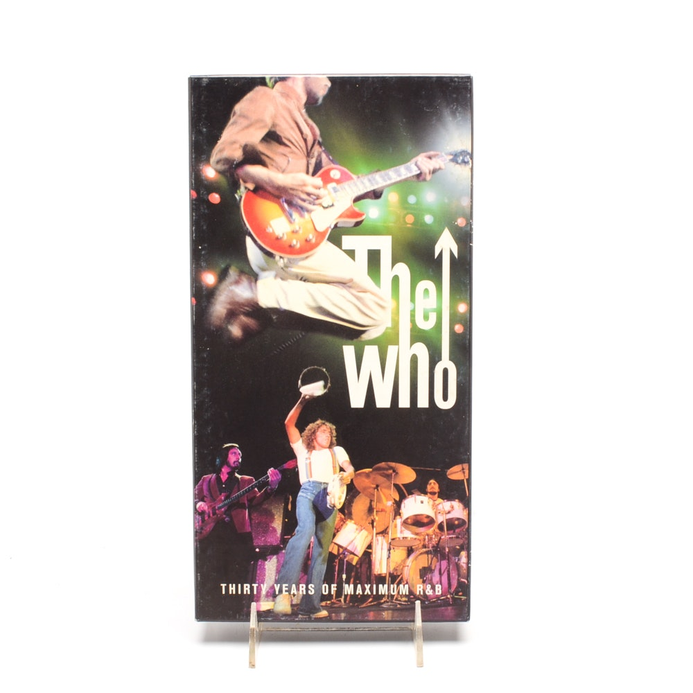 """1994 The Who """"Thirty Years of Maximum"""" R&B Boxed CD Set"""