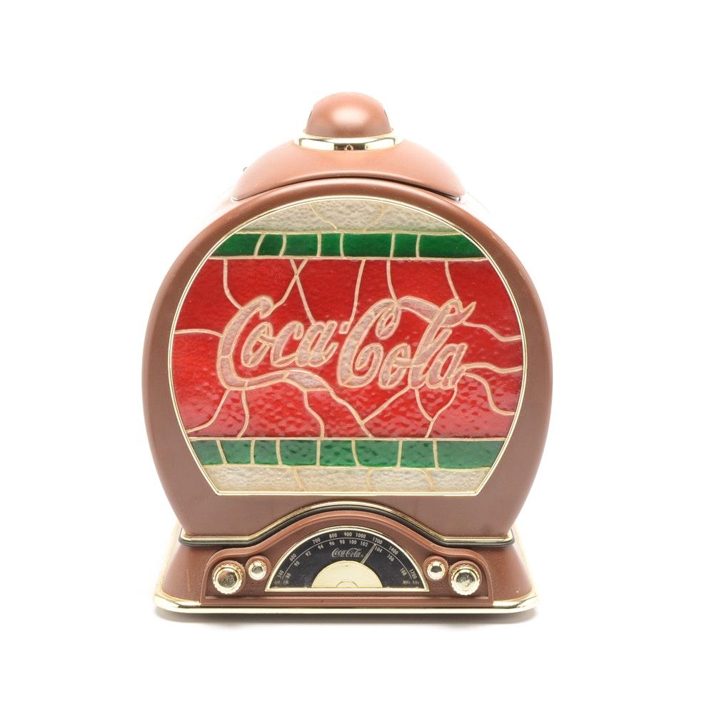 Contemporary Art Deco Style Coca-Cola Tabletop Radio