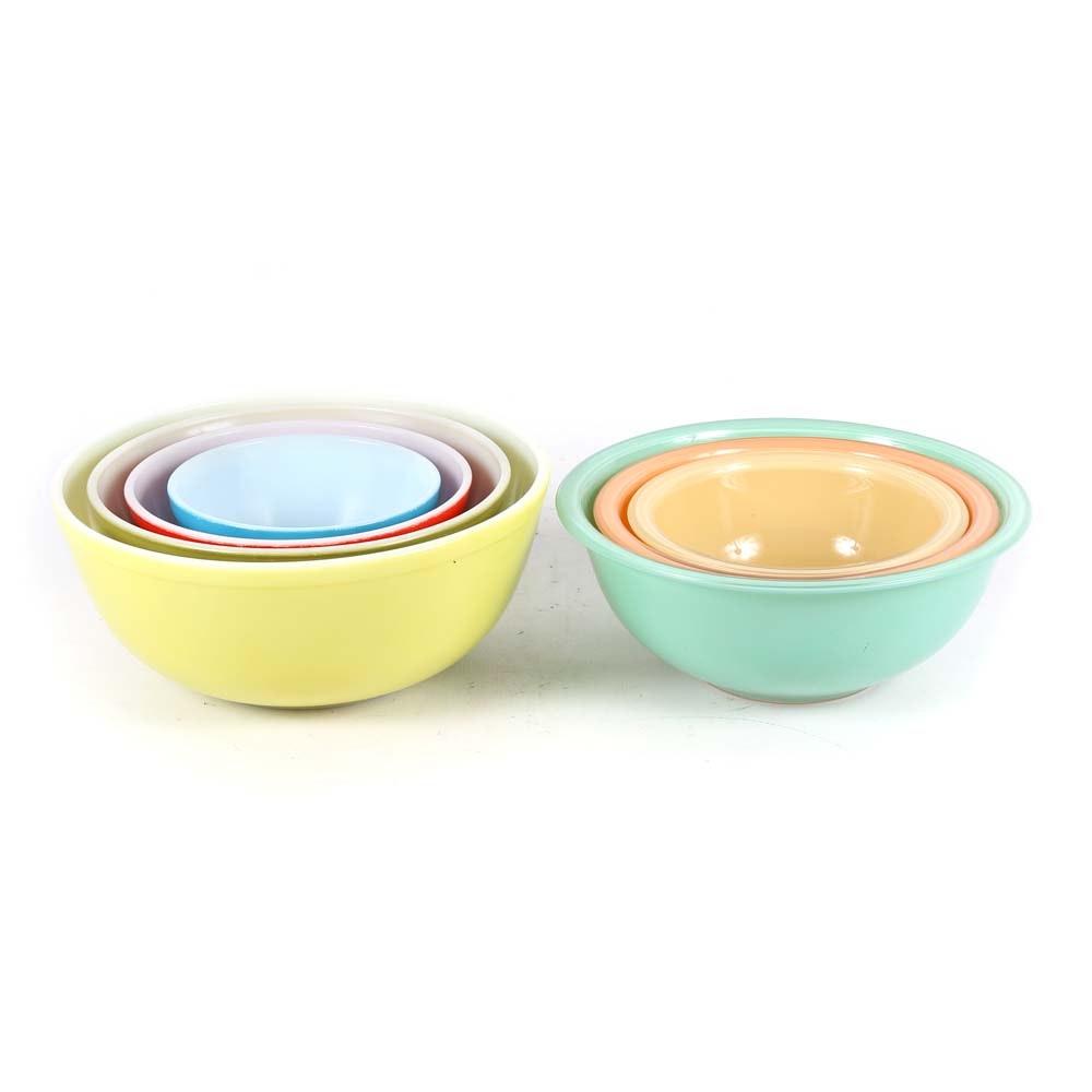 Vintage Pyrex Mixing Bowls