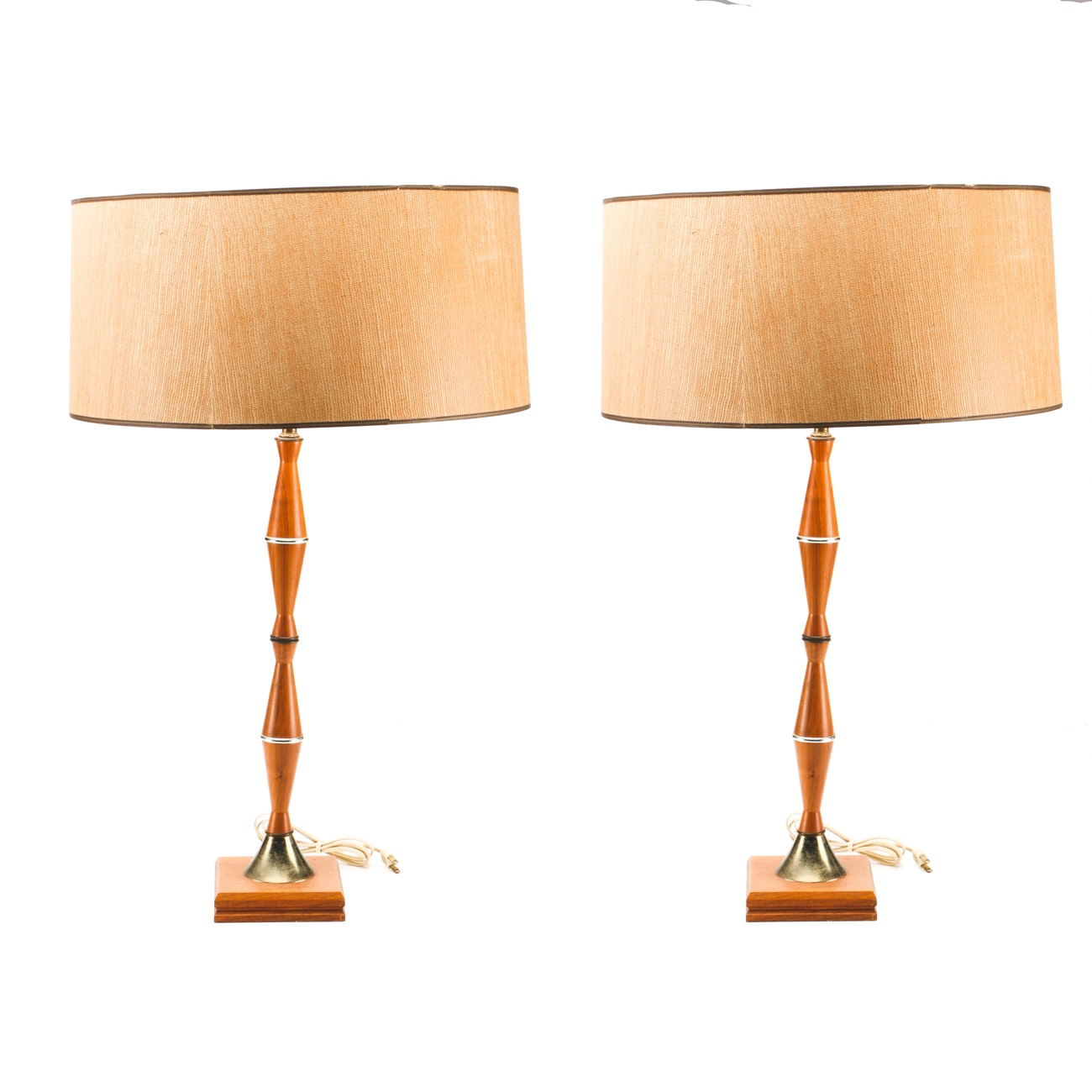 Pair of Mid Century Modern Table Lamps