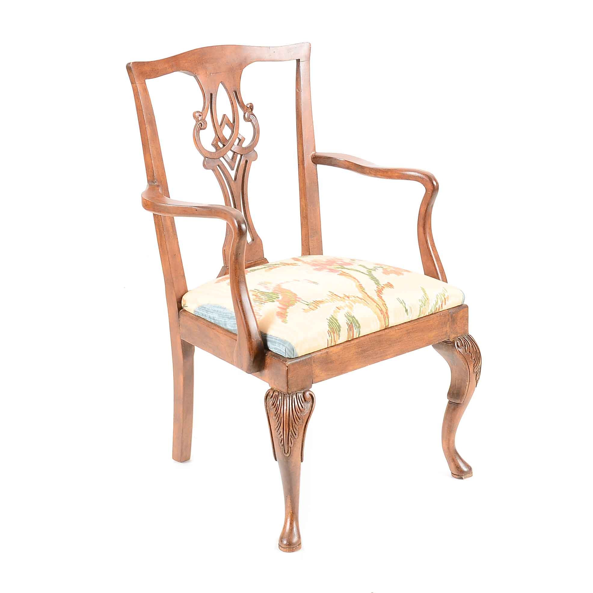 Queen Anne Style Dining Chair