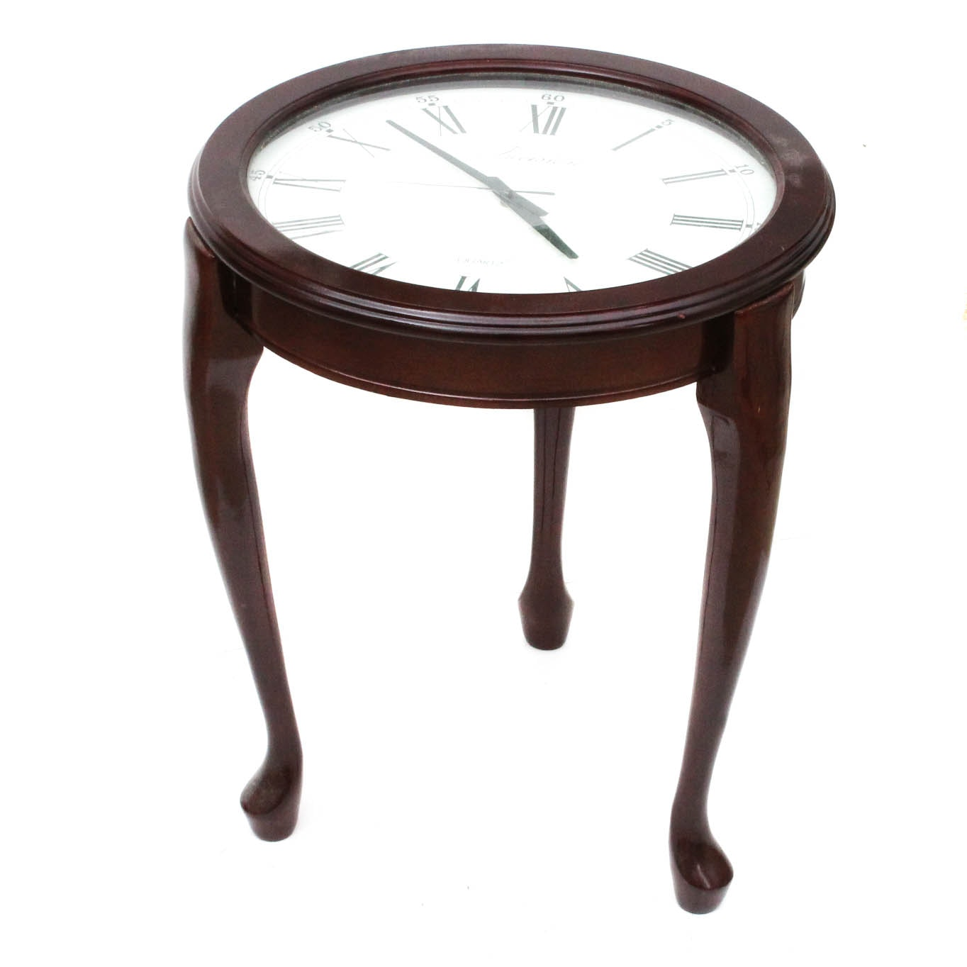 Clock Face Accent Table