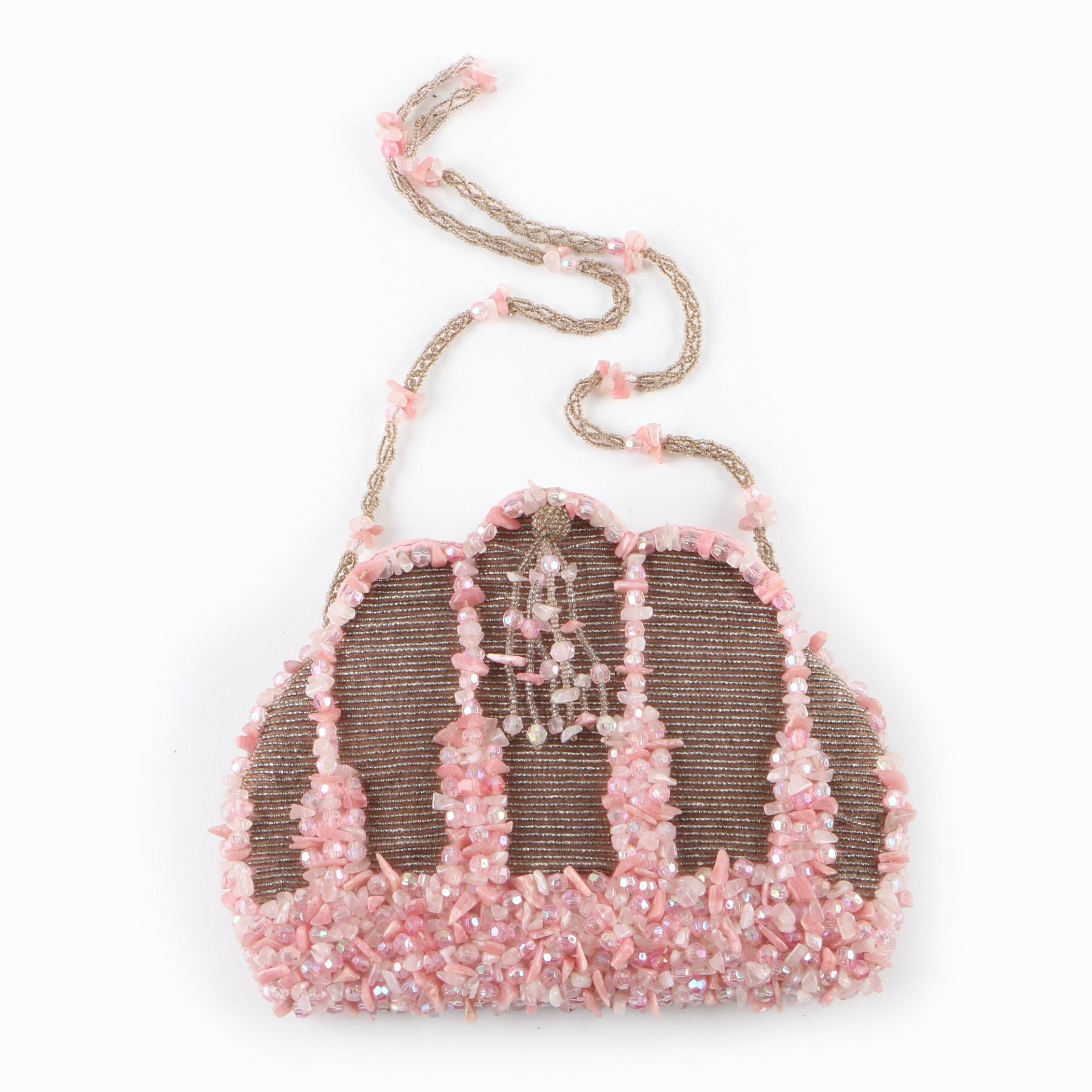 Vintage Mary Frances of San Francisco Embellished Evening Bag