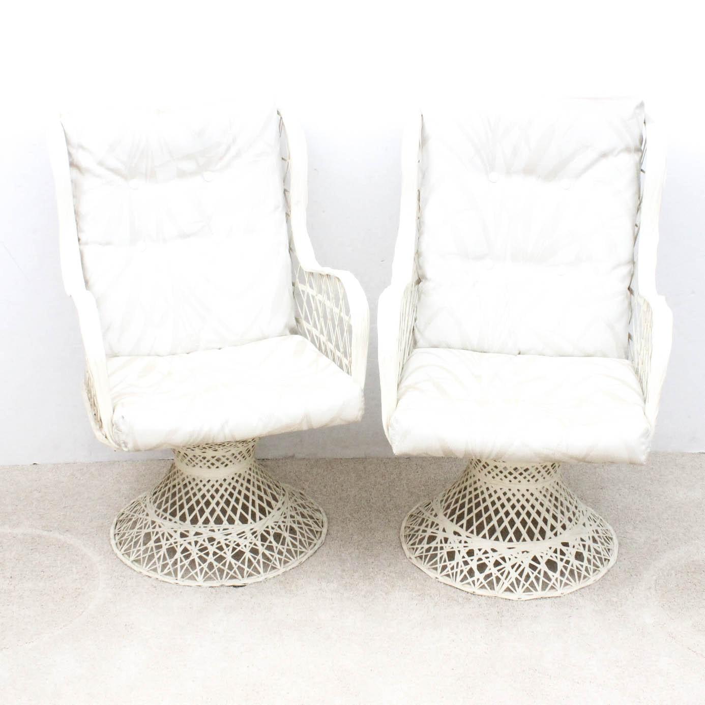 Mid Century Spun Fiberglass Chairs