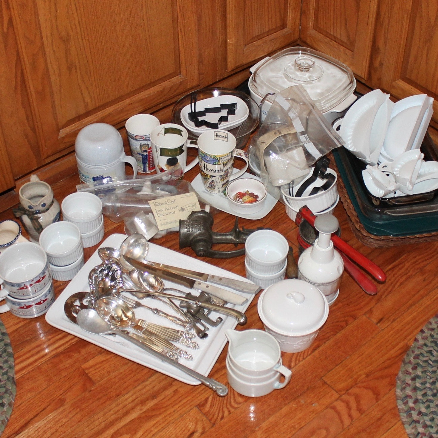 Assorted Bakeware, Cookware, and Utensils