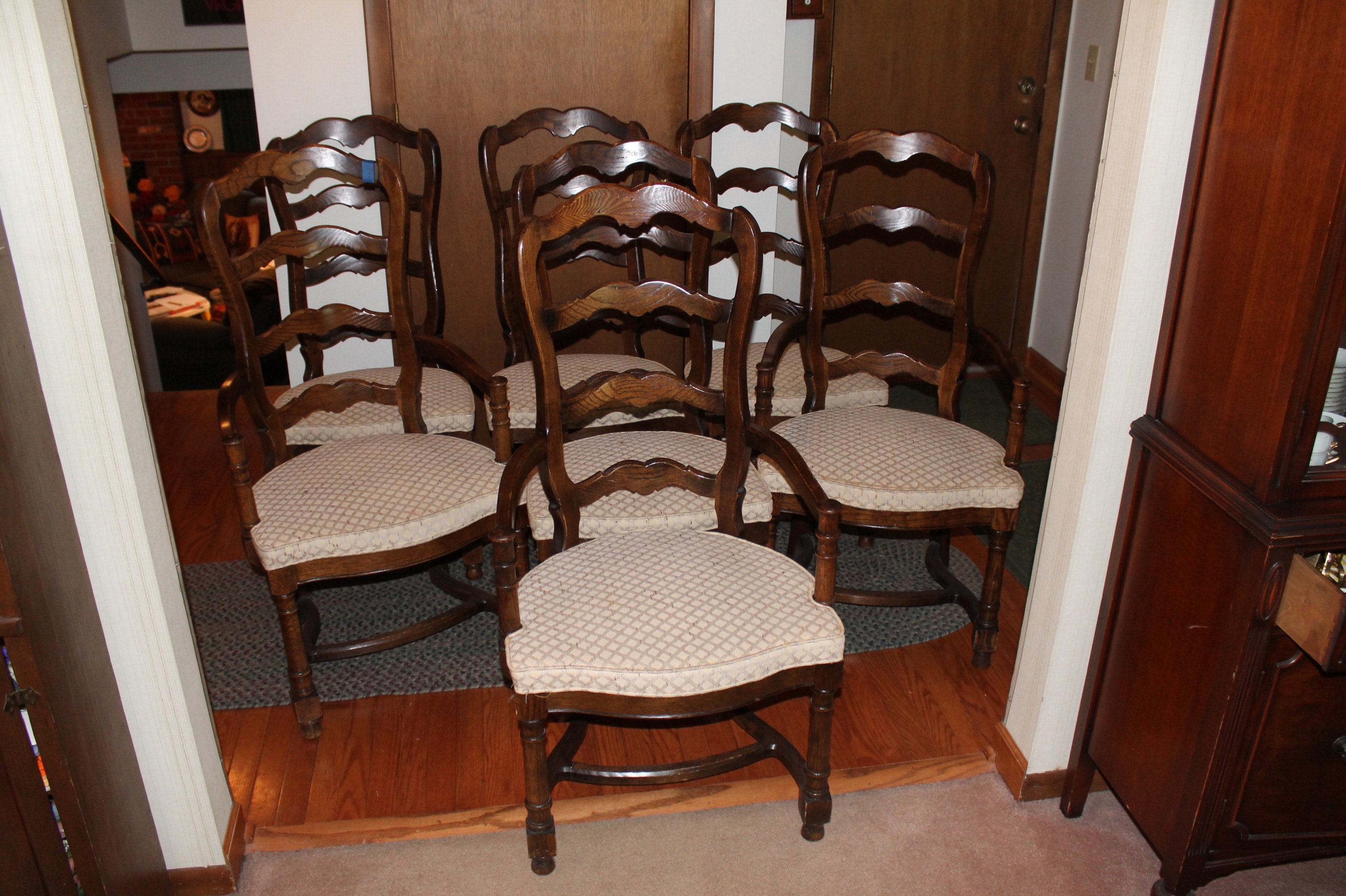 Vintage Century Furniture Oak Dining Chairs