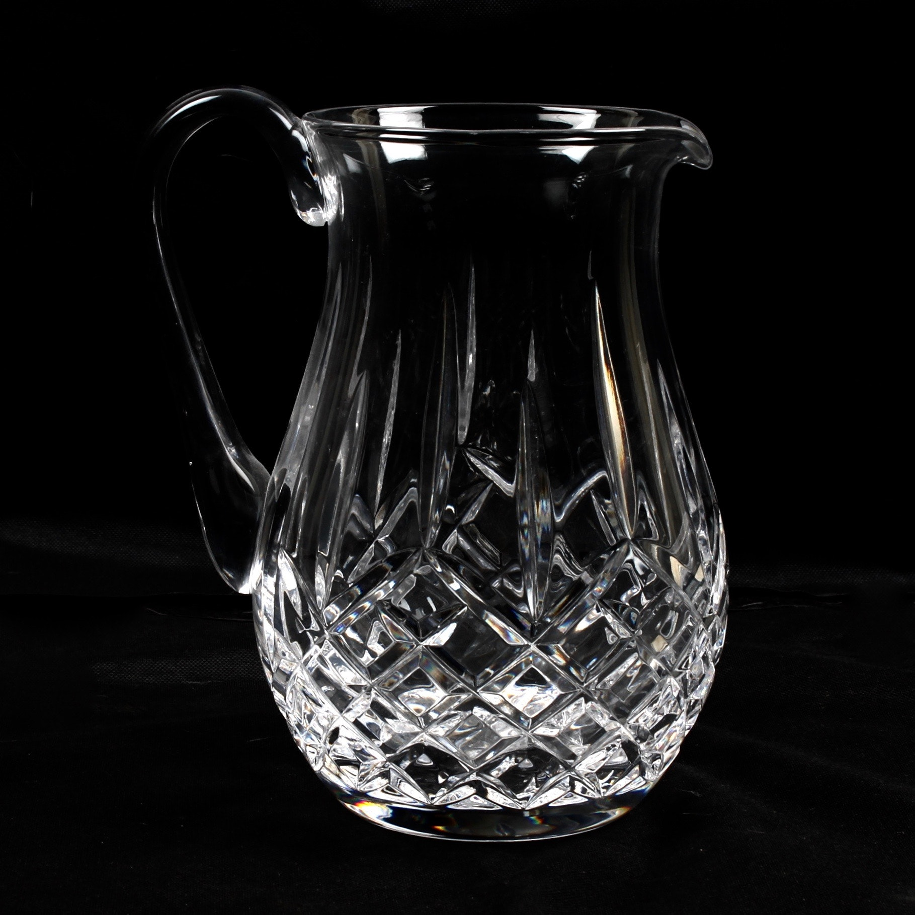 """Waterford Crystal """"Lisomore"""" Pitcher"""